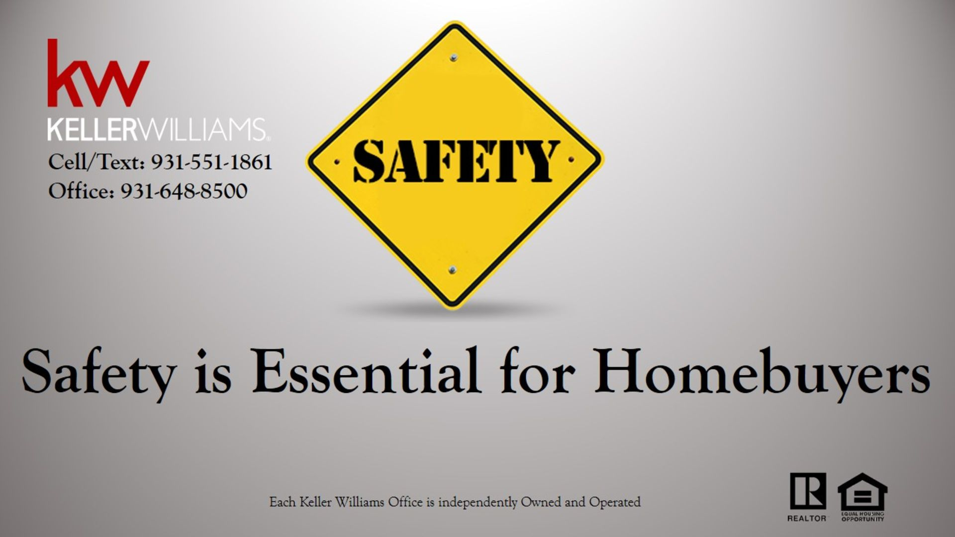Safety is Essential for Homebuyers