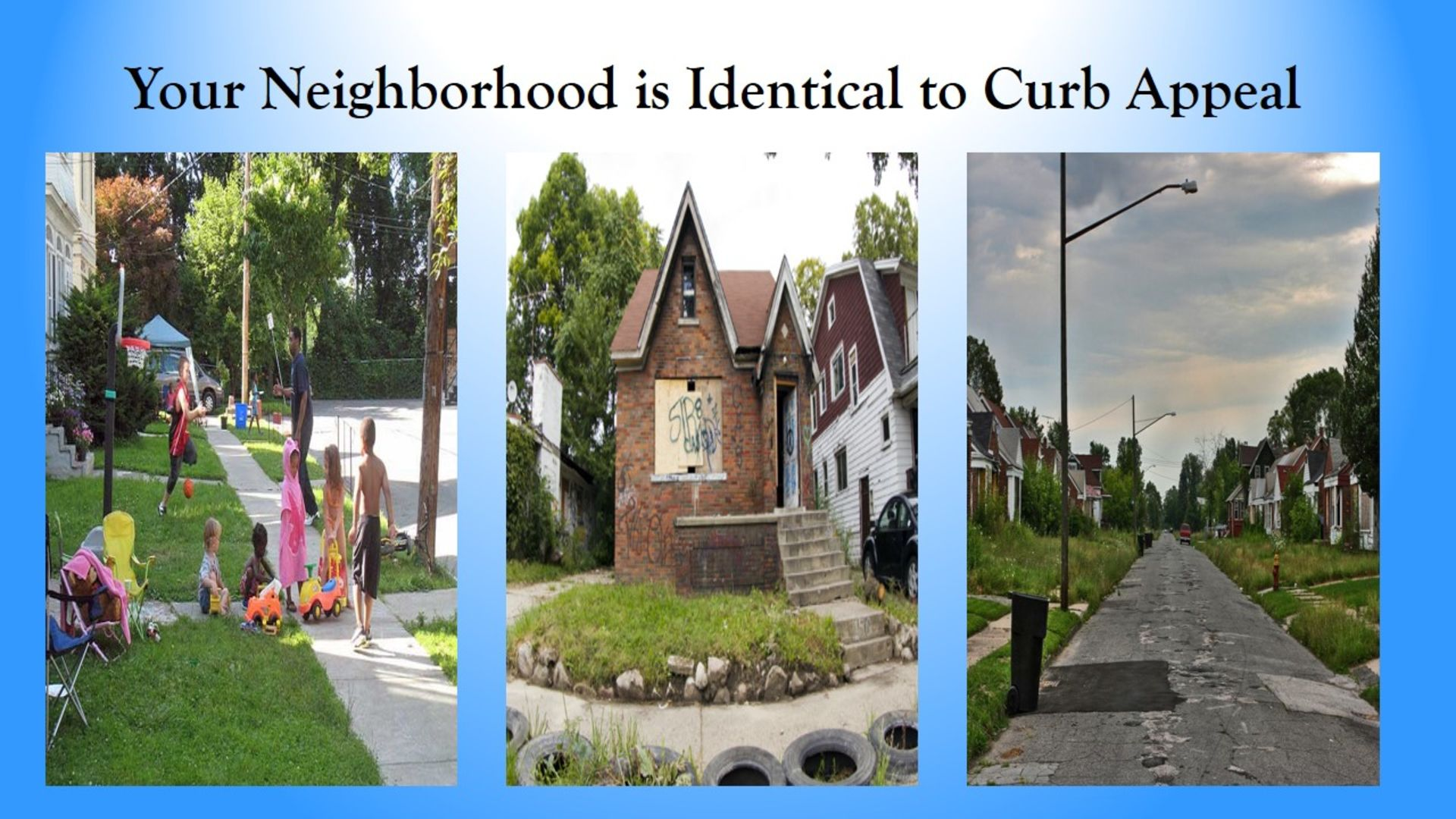 Your Neighborhood is Identical to Curb Appeal
