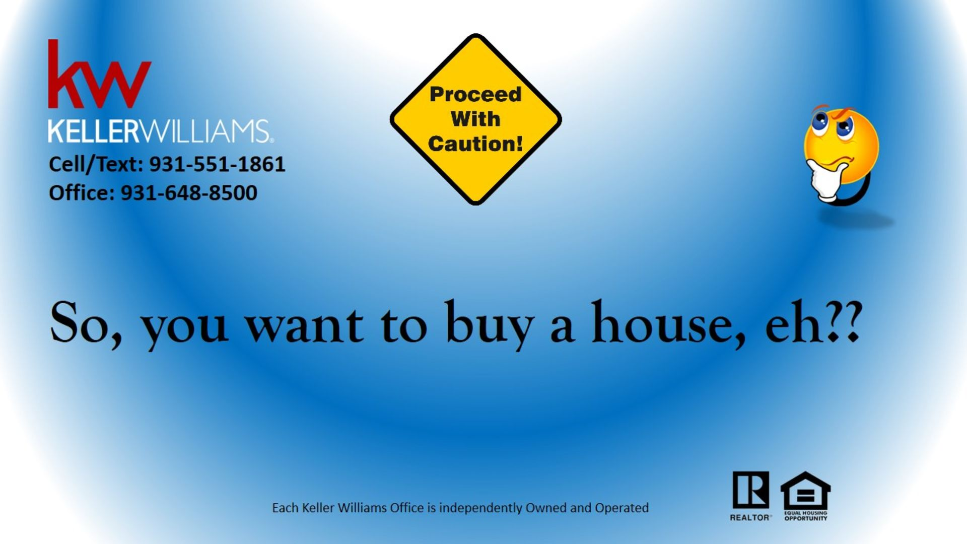 So, you want to buy a house, eh??