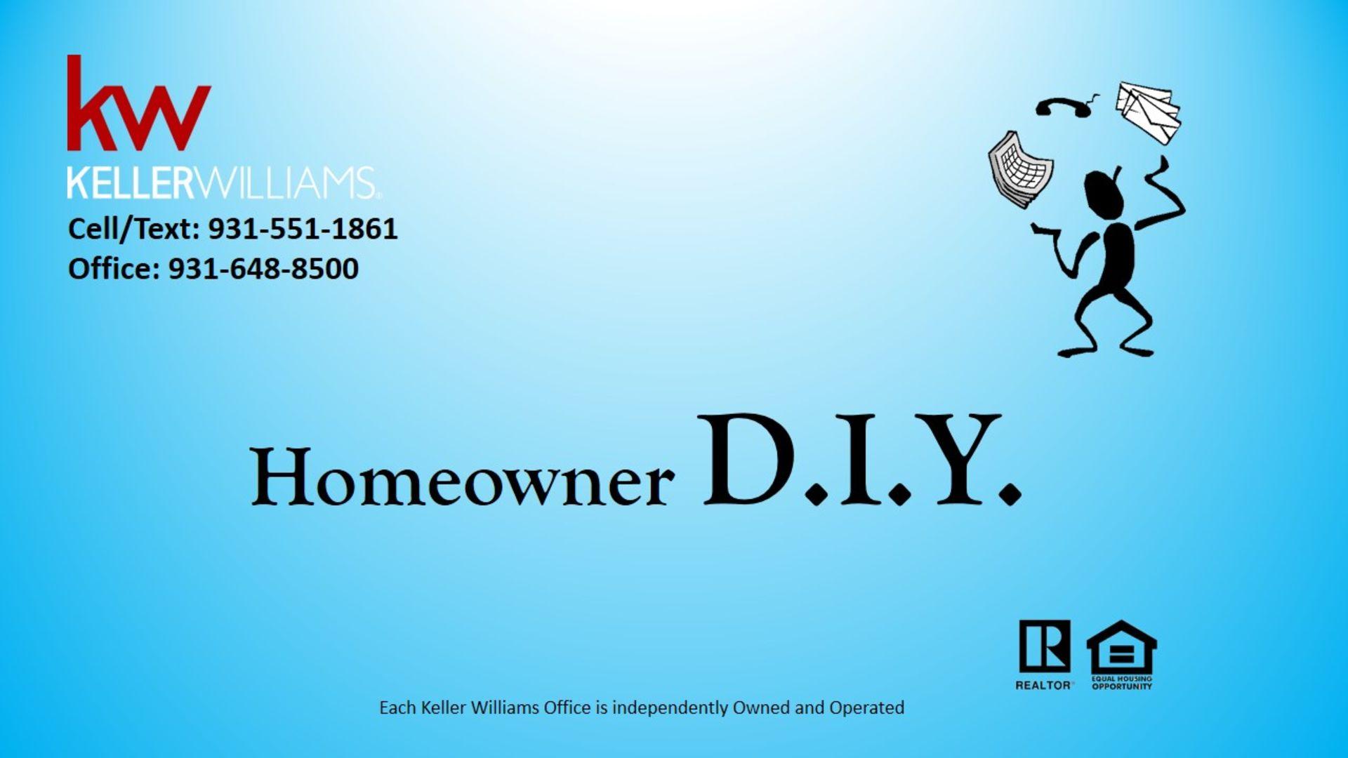 Homeowner DIY
