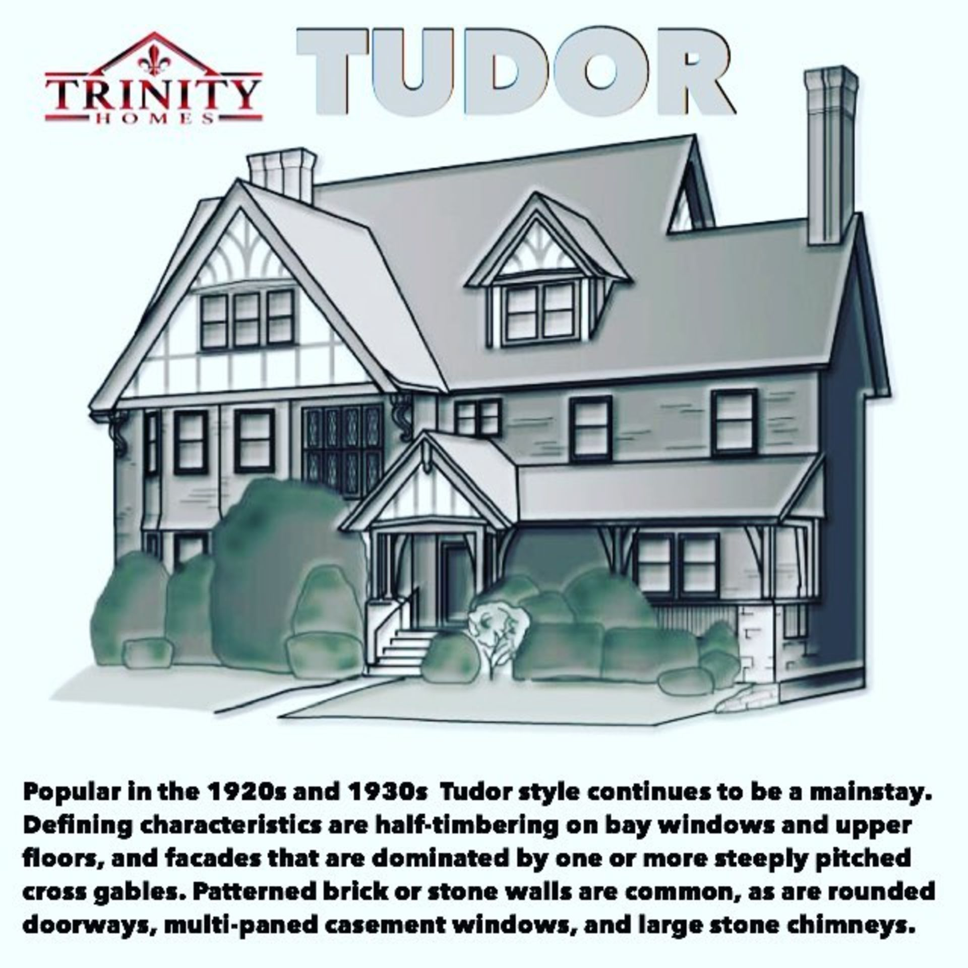 Kansas City Tudor Homes