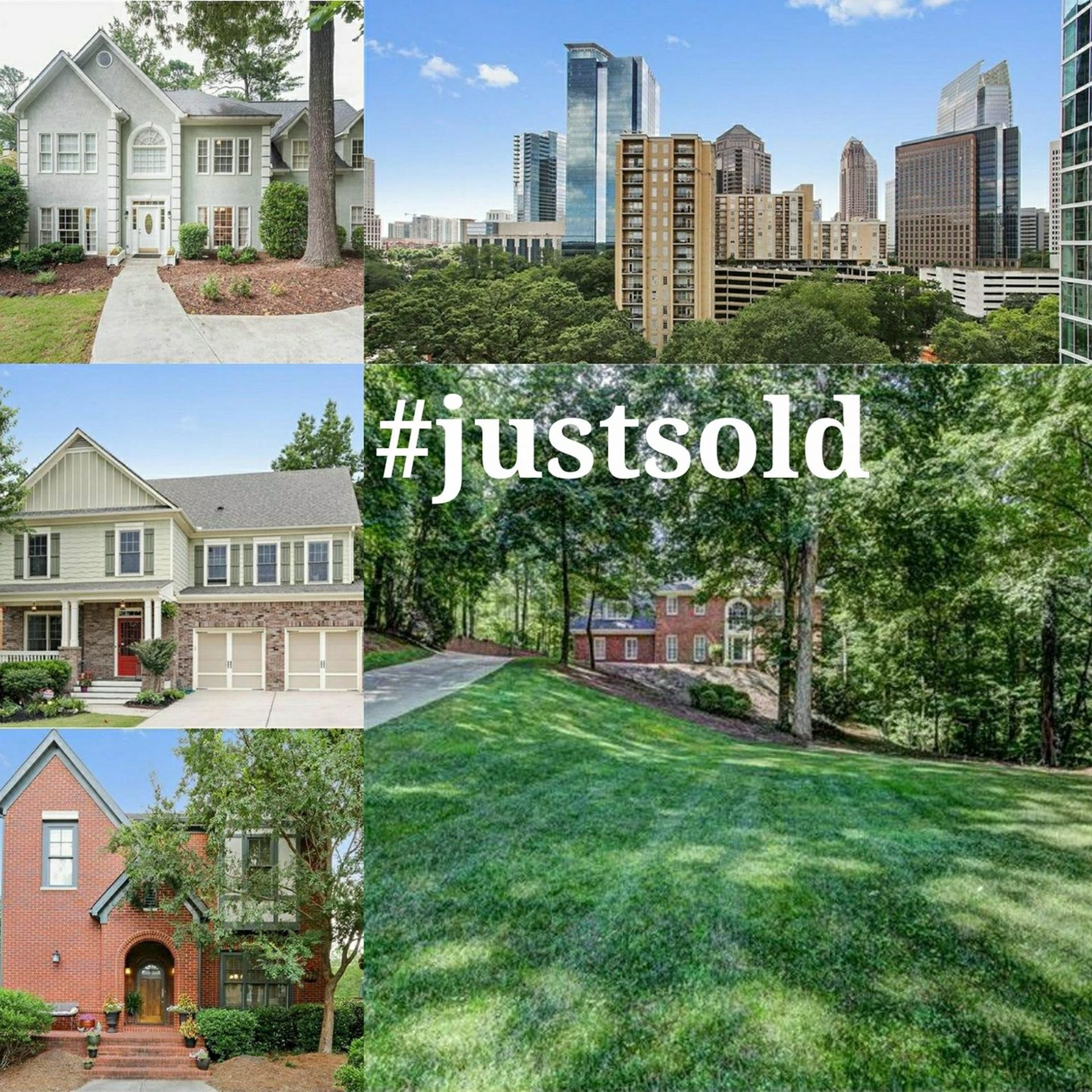 Just Sold in Roswell, Marietta, Midtown, Douglasville, AND Lithia Springs