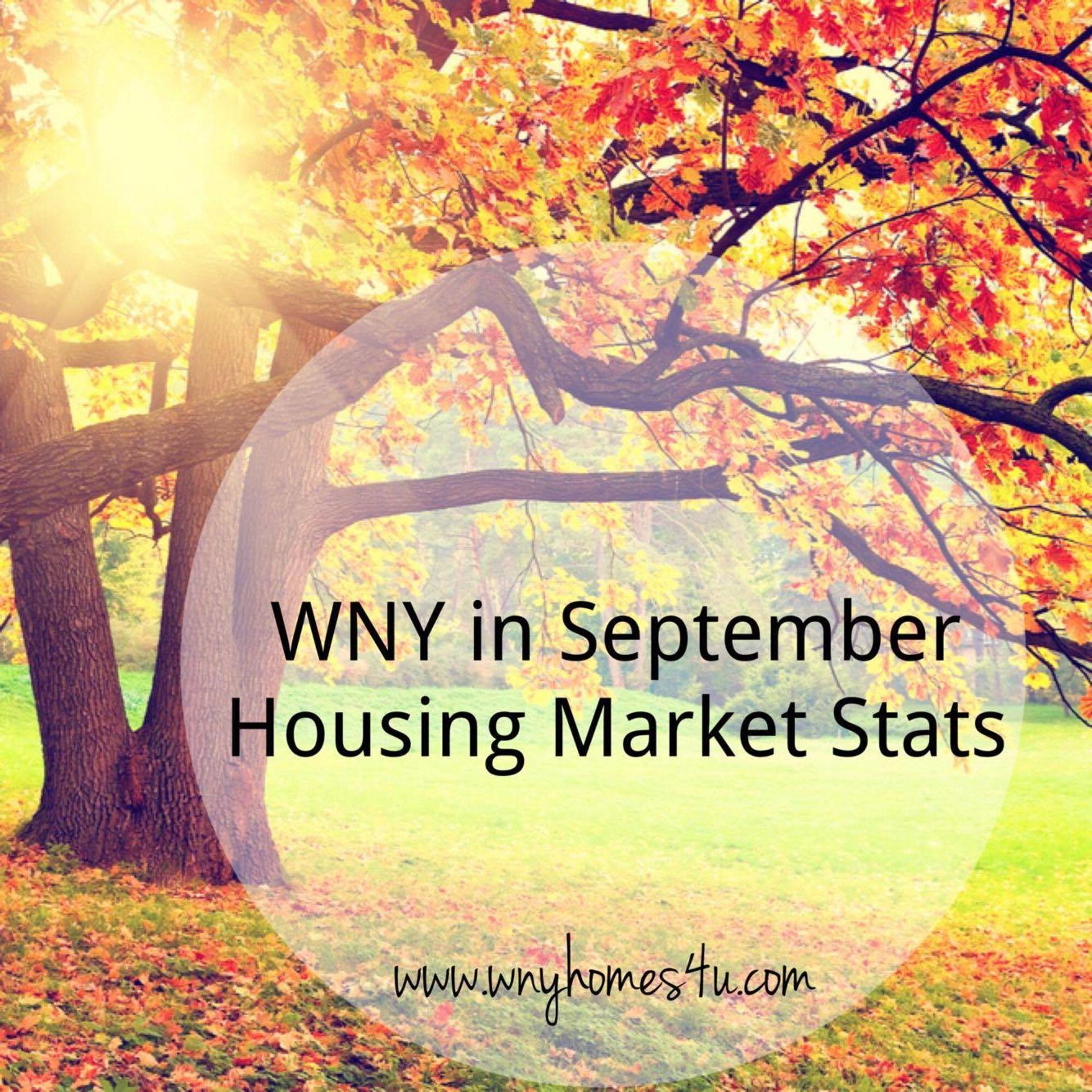 September Statistics WNY housing market