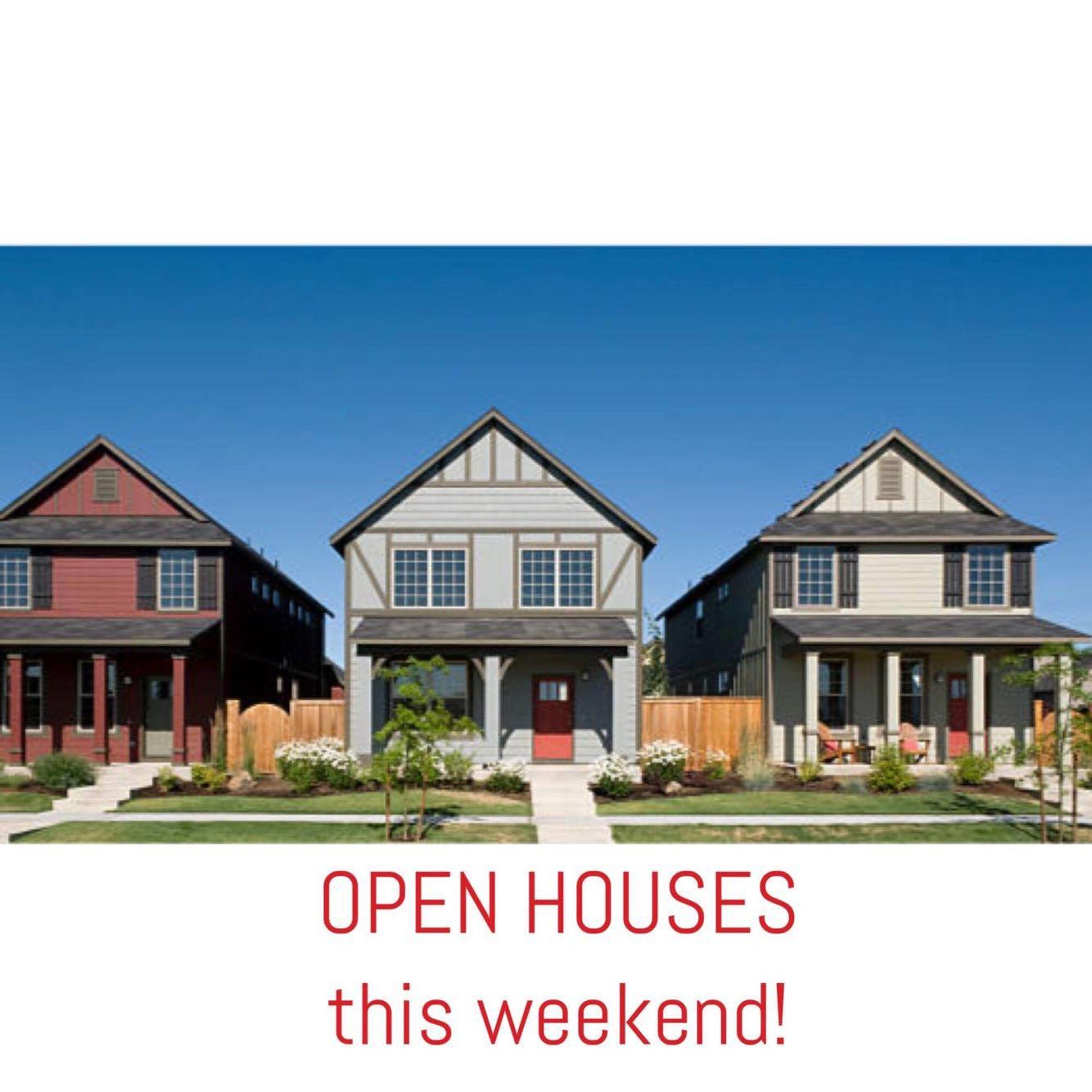 Open Houses Nov 25 & 26 in WNY