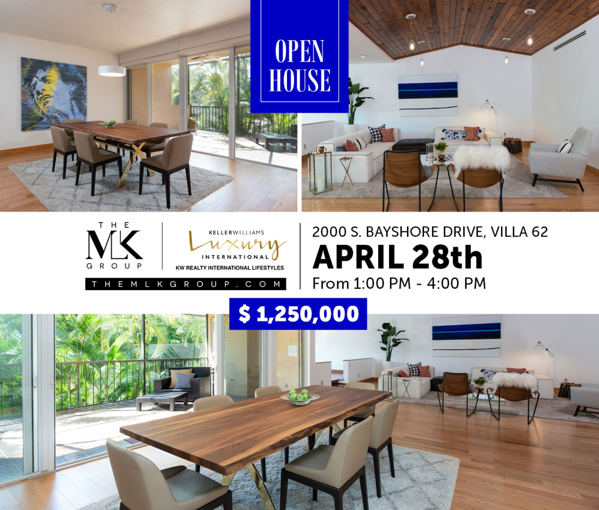 Townhouse for sale open in coconut grove Sunday April 28th, 2-4pm