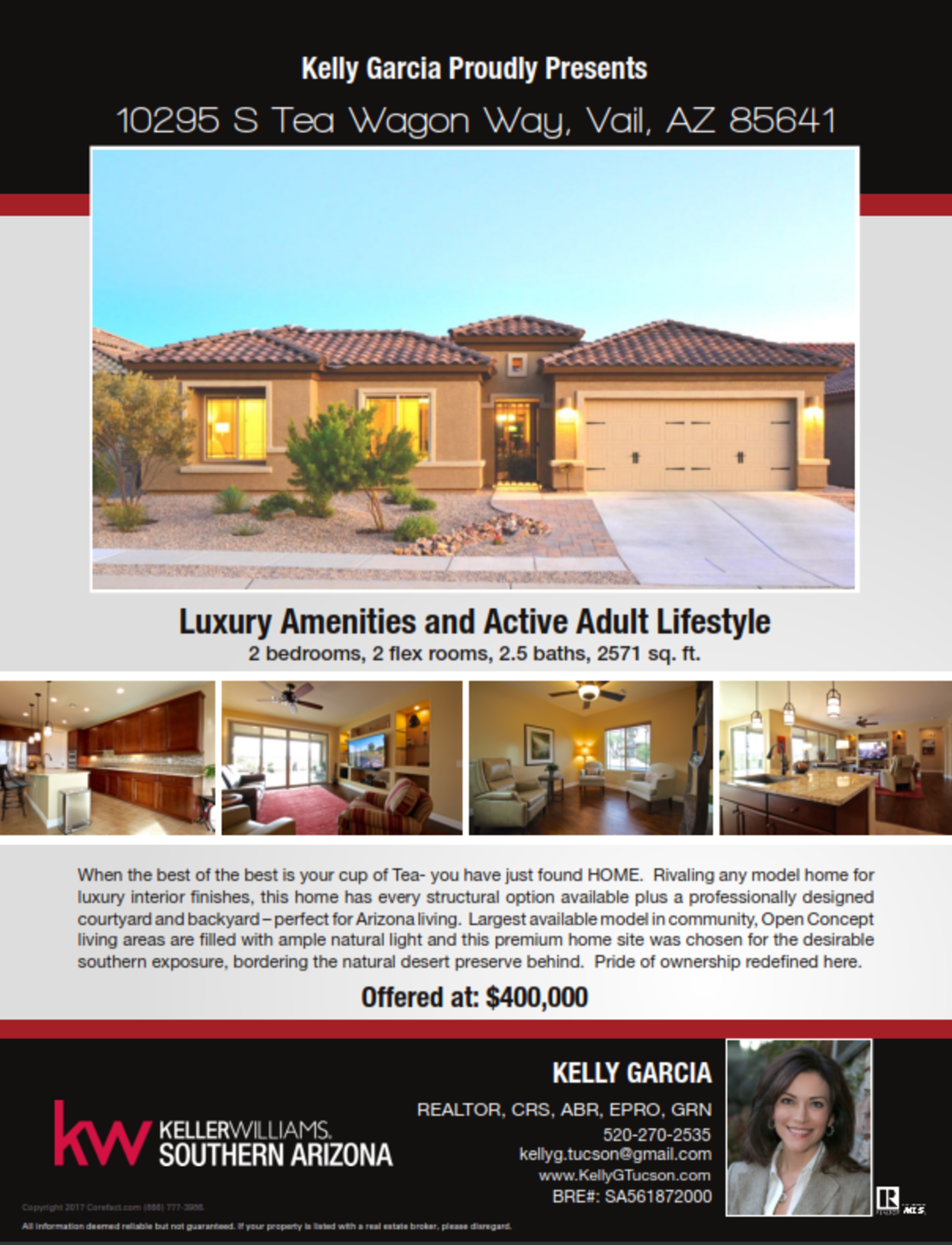 Tucson Active Adult Lifestyle in Vail Arizona