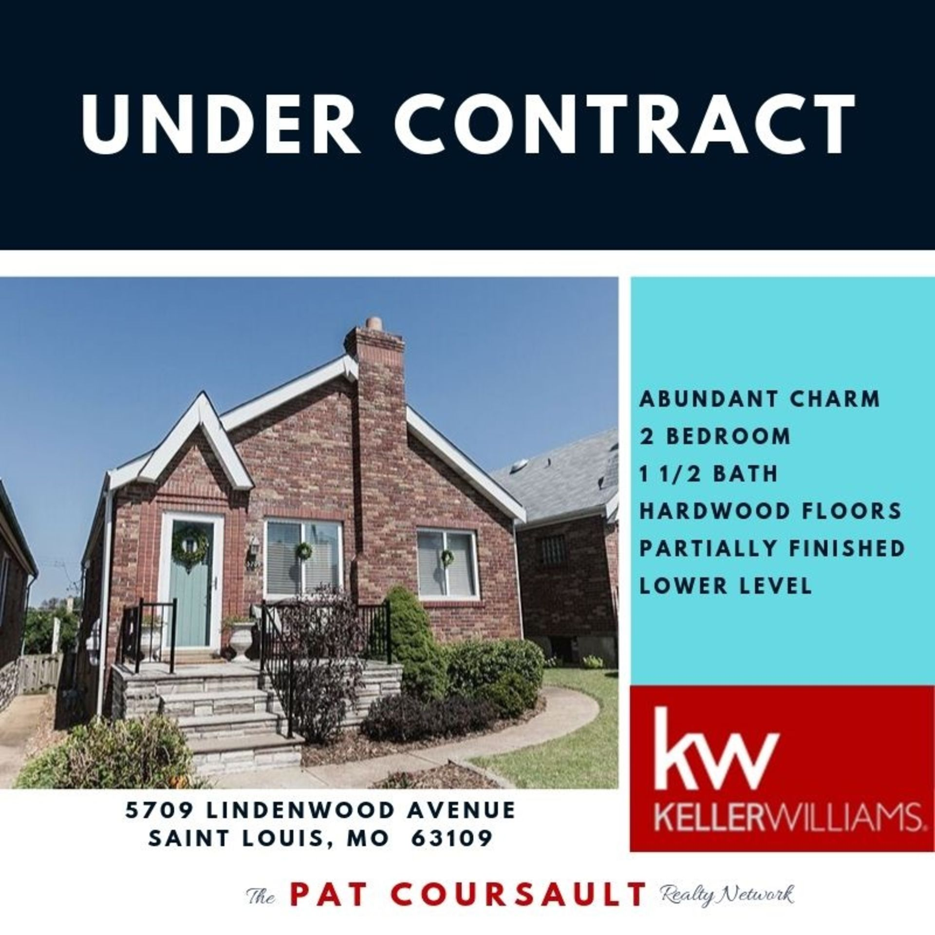 UNDER CONTRACT…5709 Lindenwood Avenue, 63109