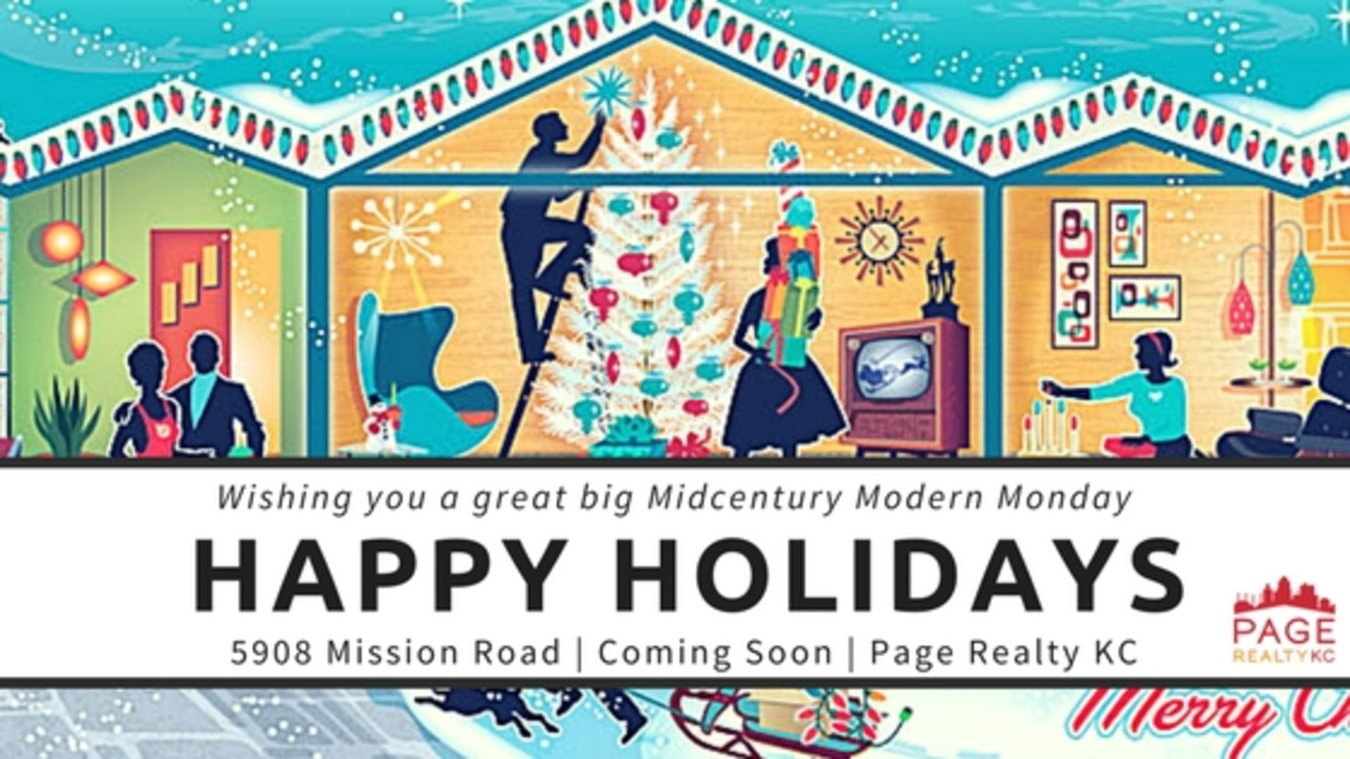Midcentury Modern Monday (on a Tuesday) – A Happy Holidays Edition
