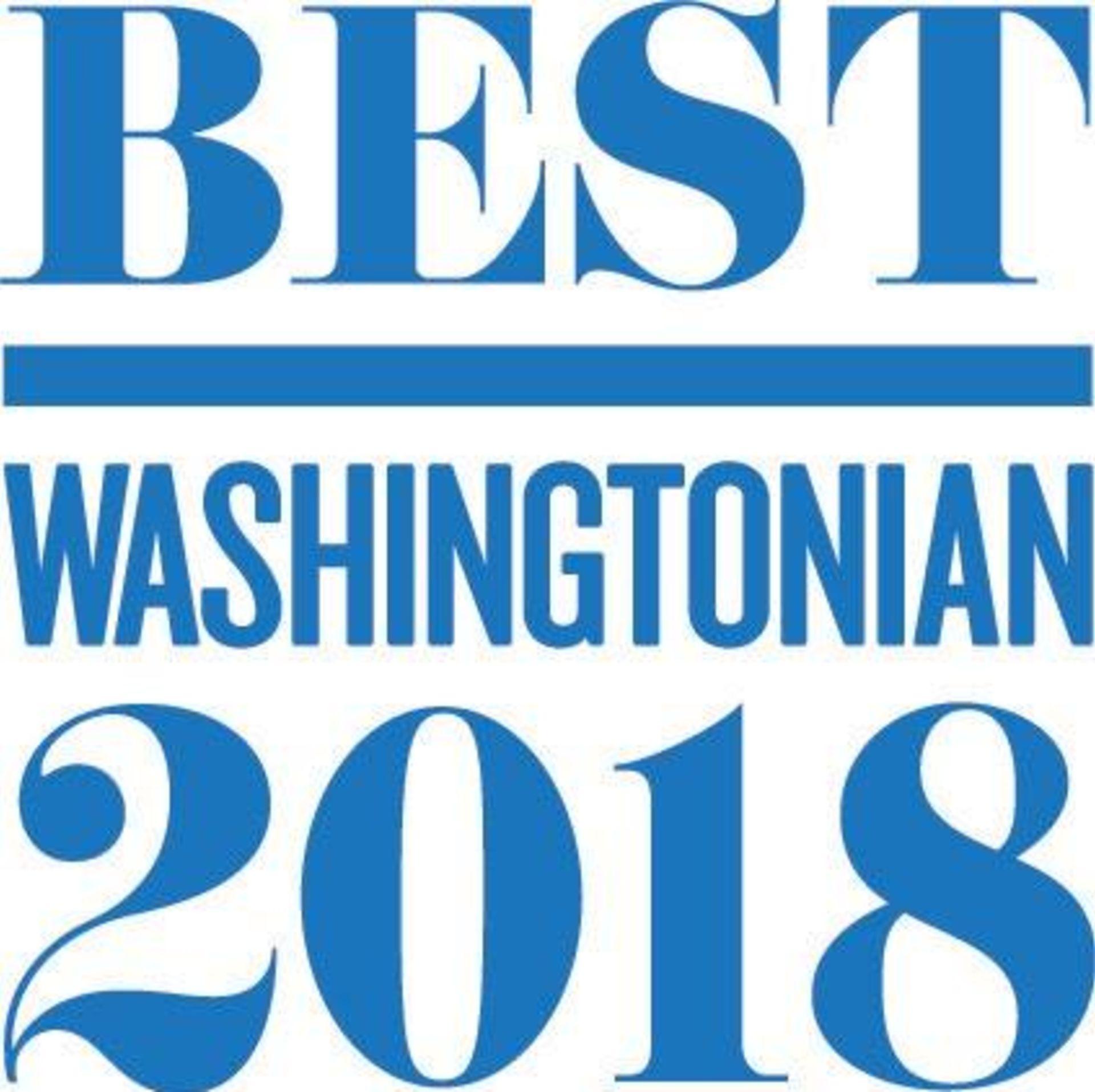 Washingtonian Best 2018