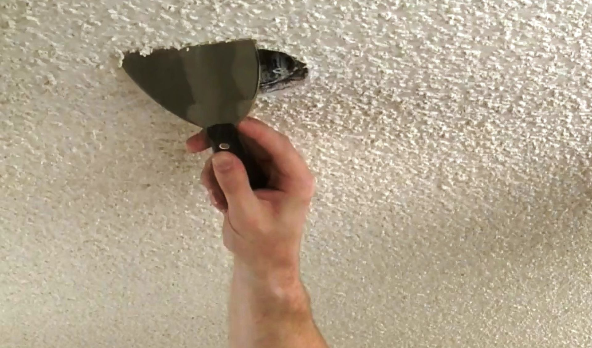 How To Remove Popcorn Ceiling Because Isn 8217 T It About