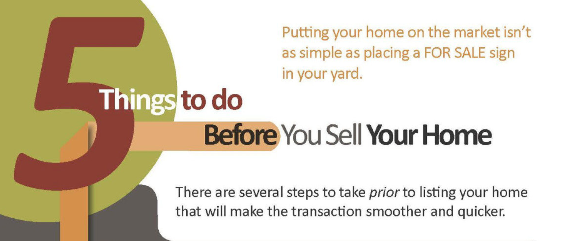 5 Things to do Before You Sell Your Home