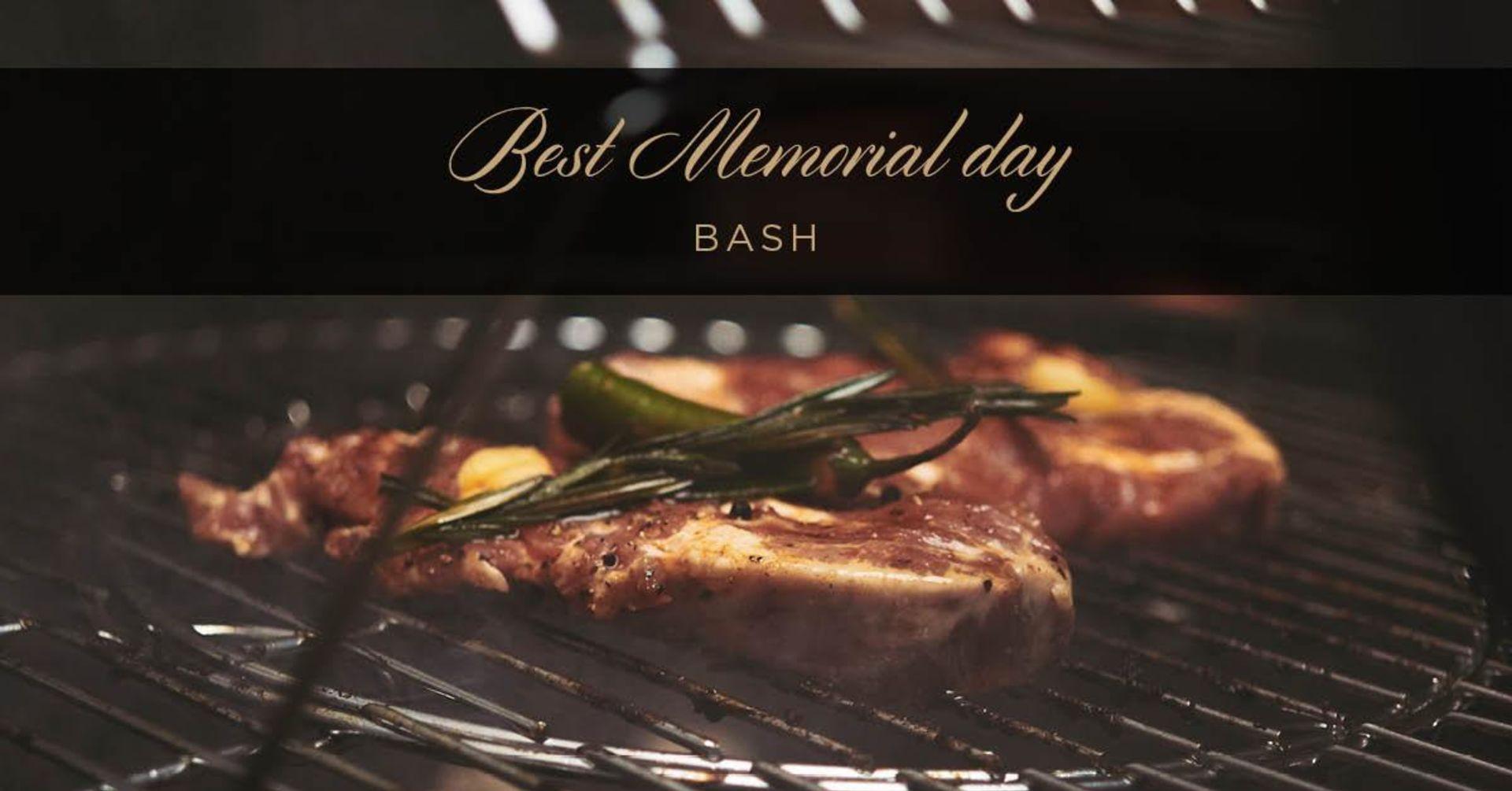 Best Memorial Day Bash