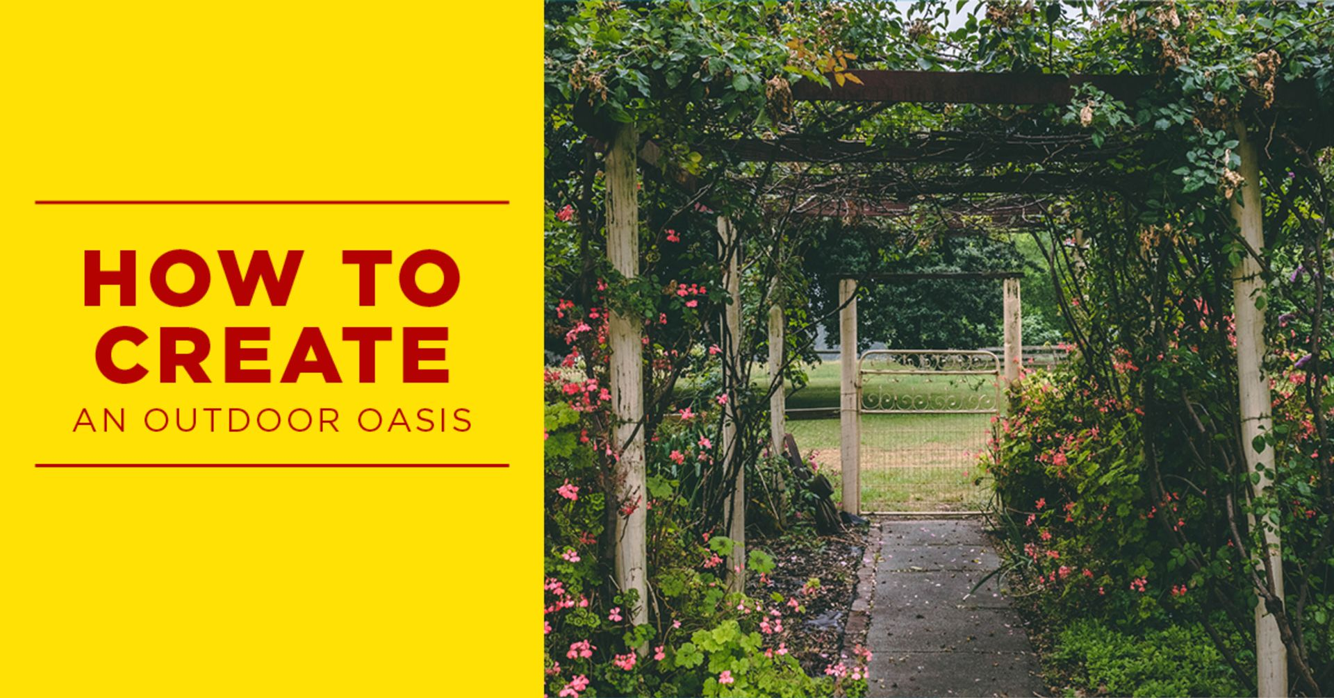 Escape to an Outdoor Oasis