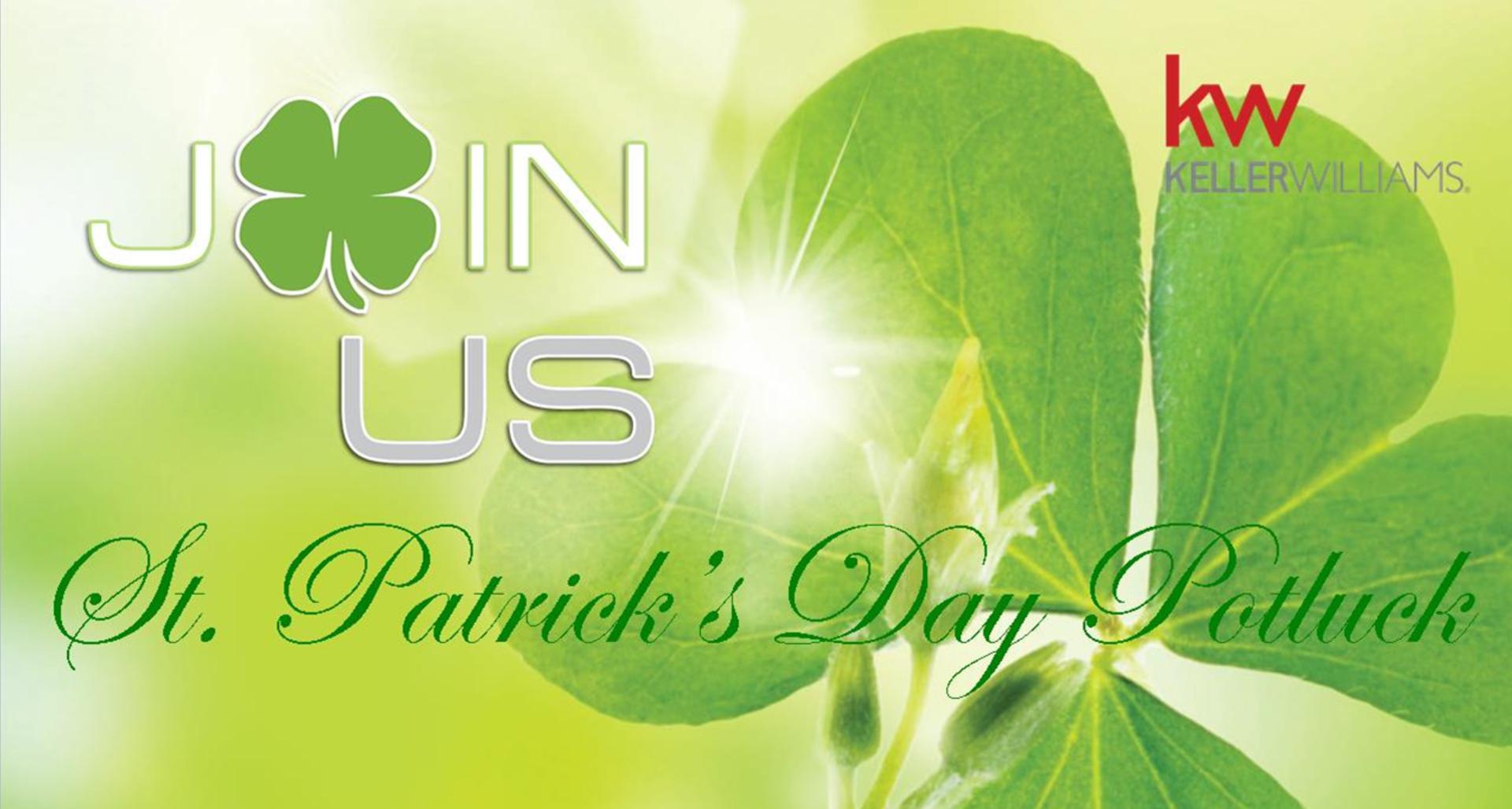 St. Patrick's Day Potluck Recap!