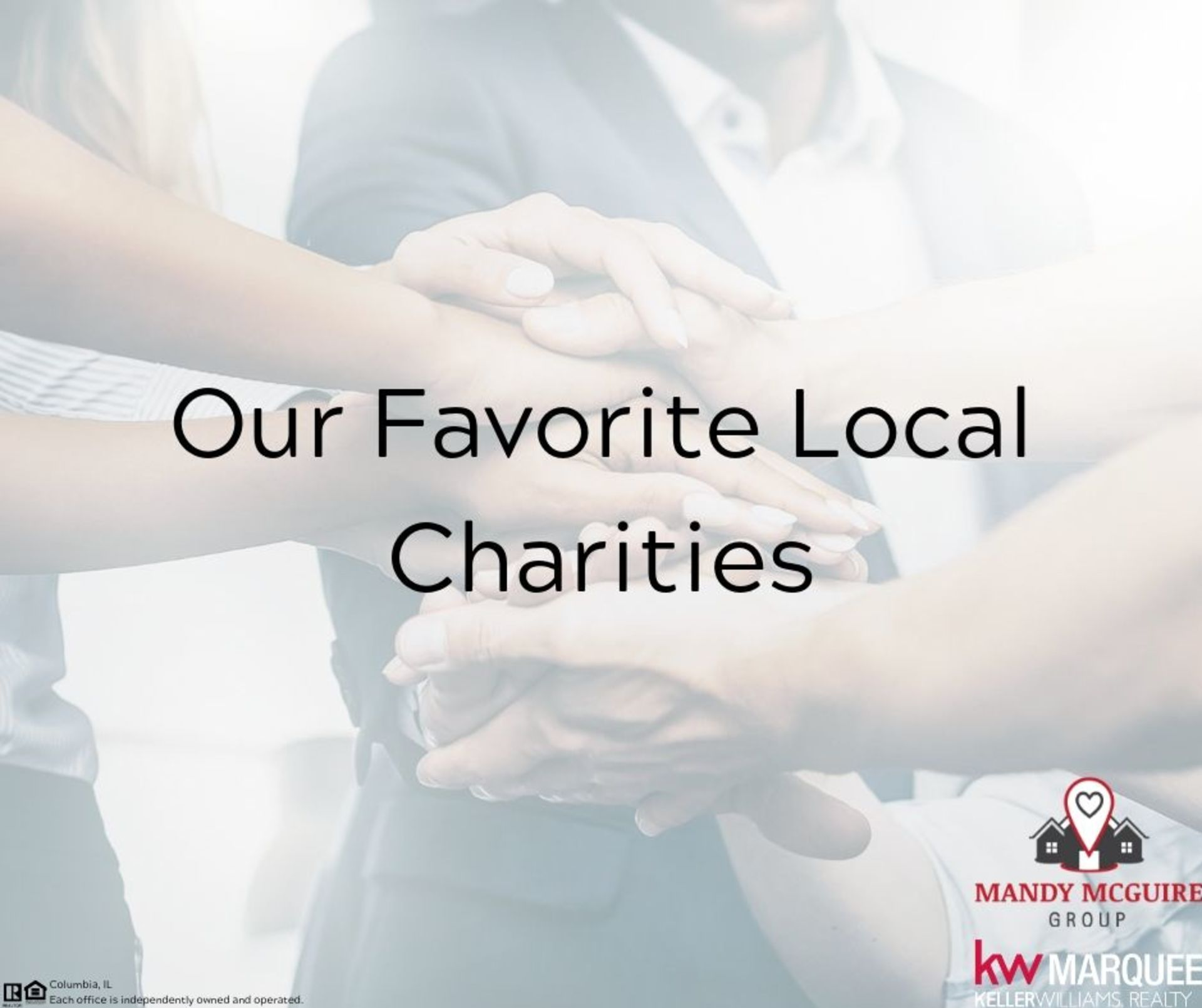 Our Favorite Local Charities