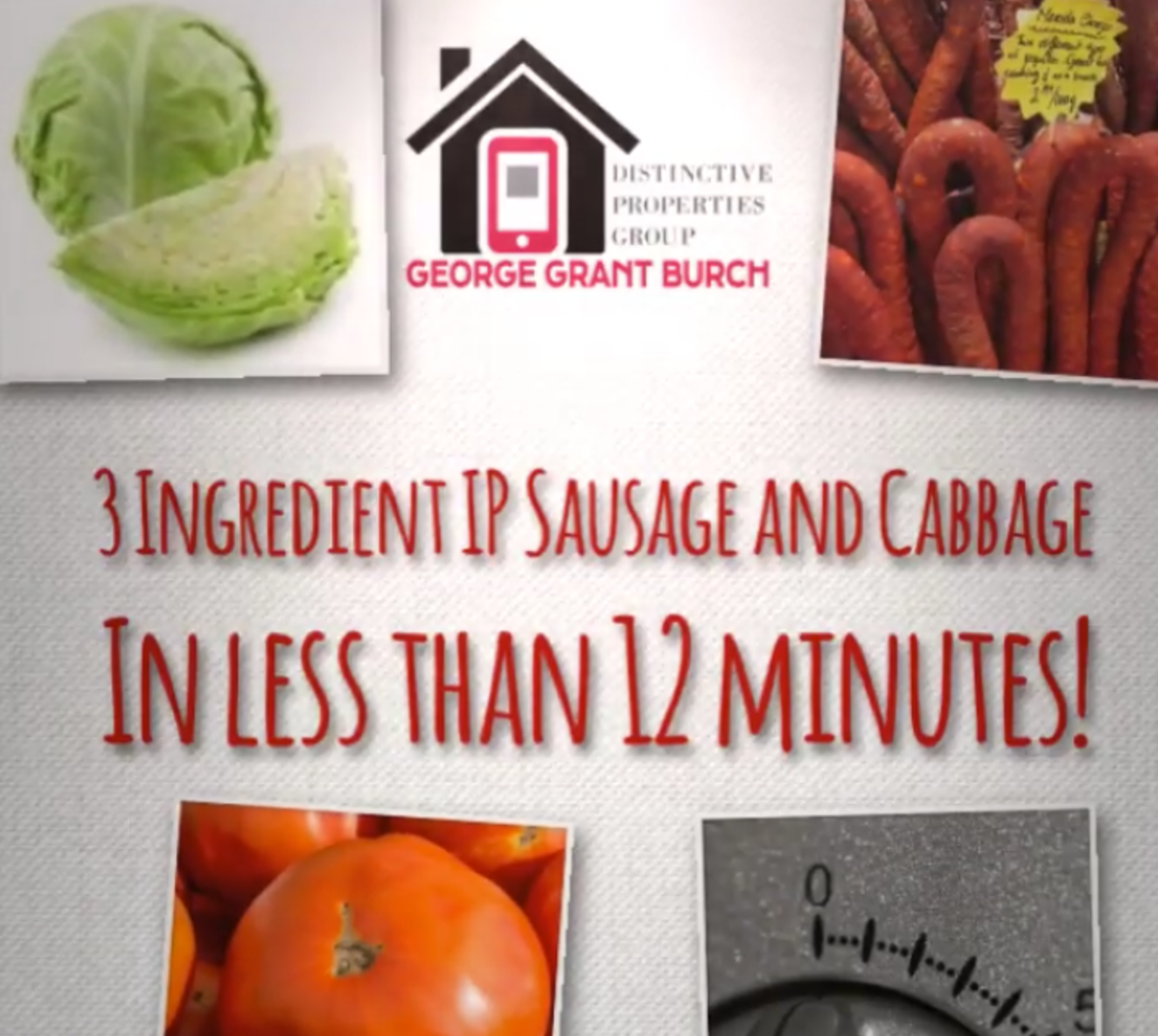 3-Ingredient Instant Pot Sausage and Cabbage
