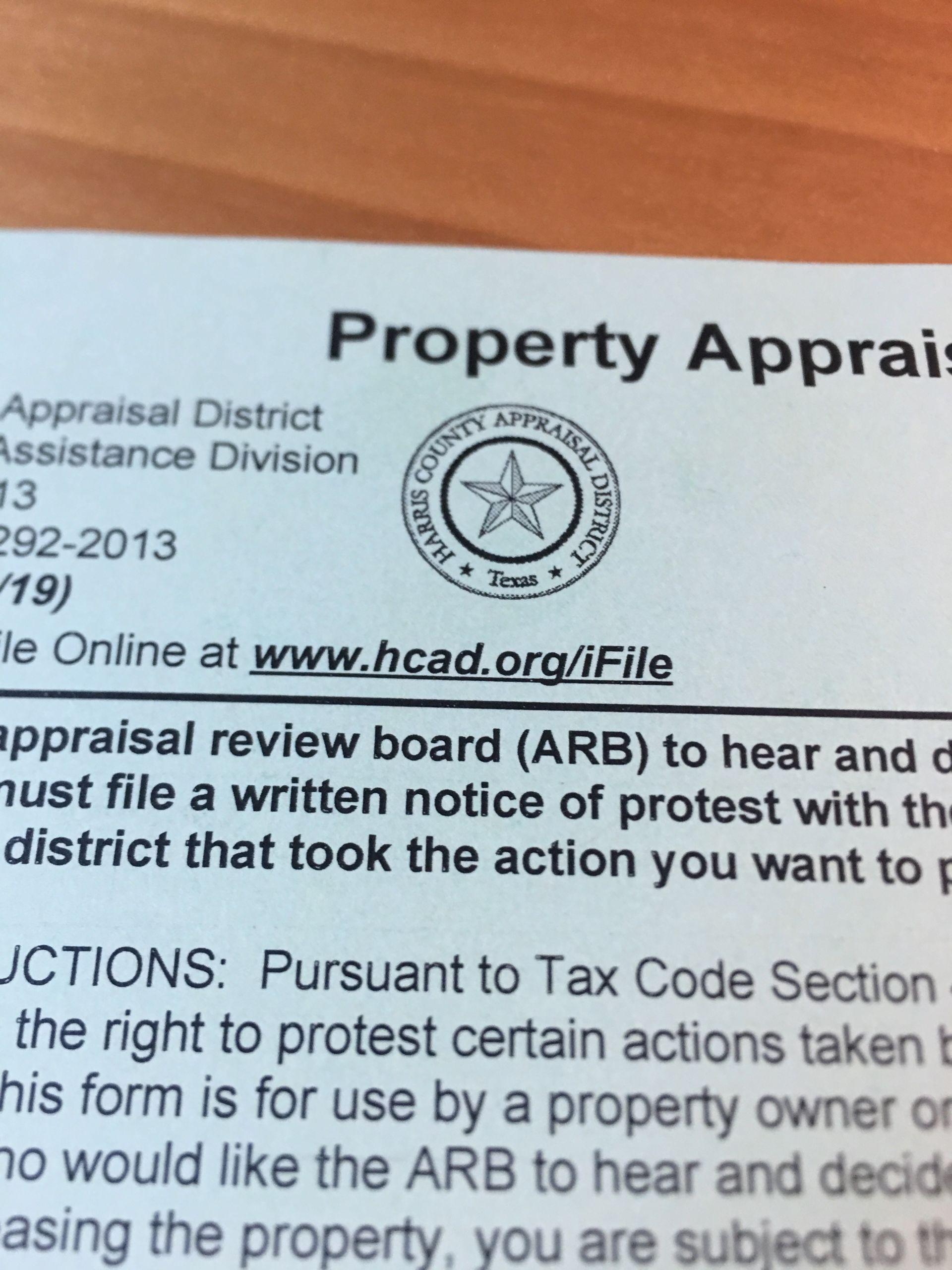Property Tax Follow-up