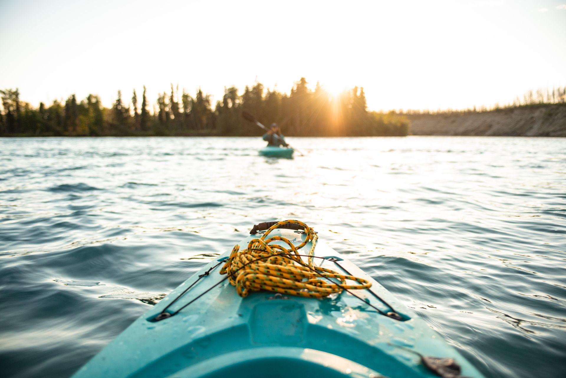 Kayaking Around Alaska