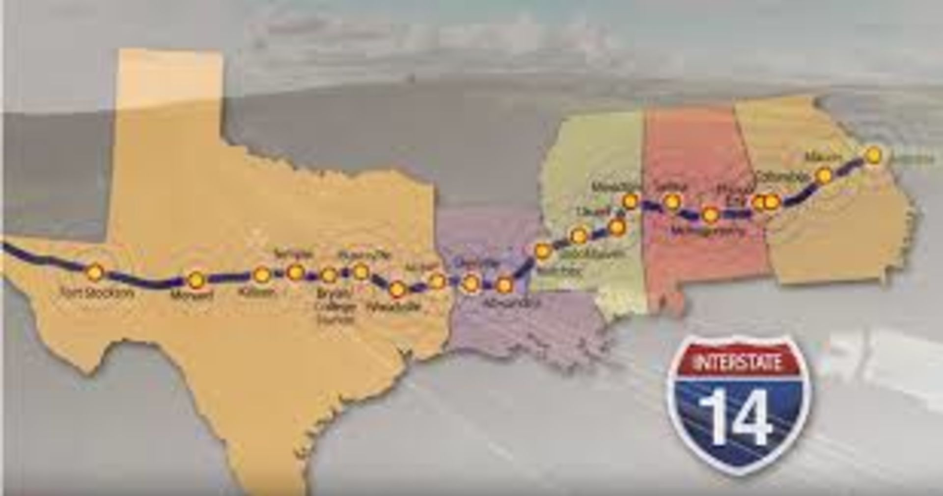 An Interstate 14 through the Columbus area? New video shows why you should care