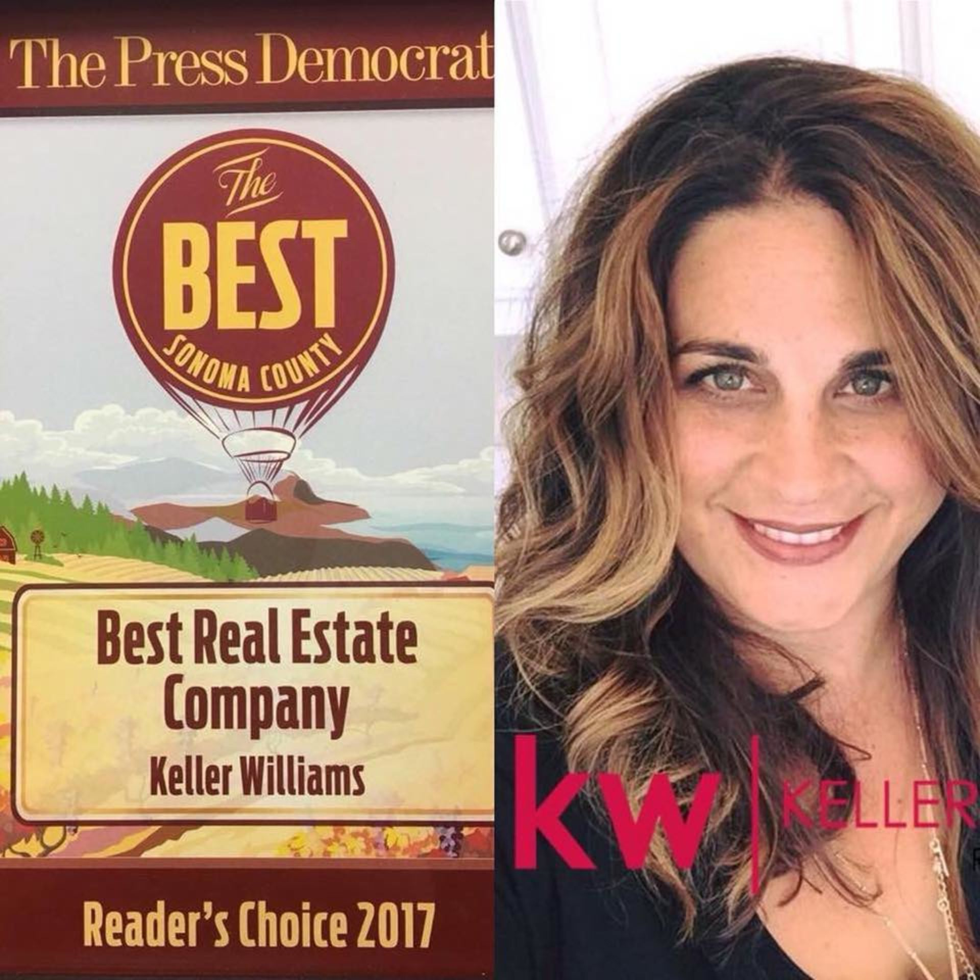 KW Earns Best Real Estate Company in 2017!