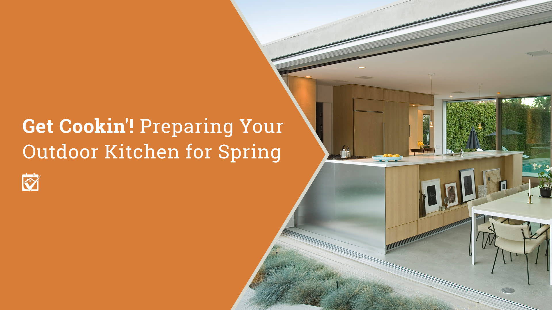 Get Cookin'! Preparing Your Outdoor Kitchen for Spring