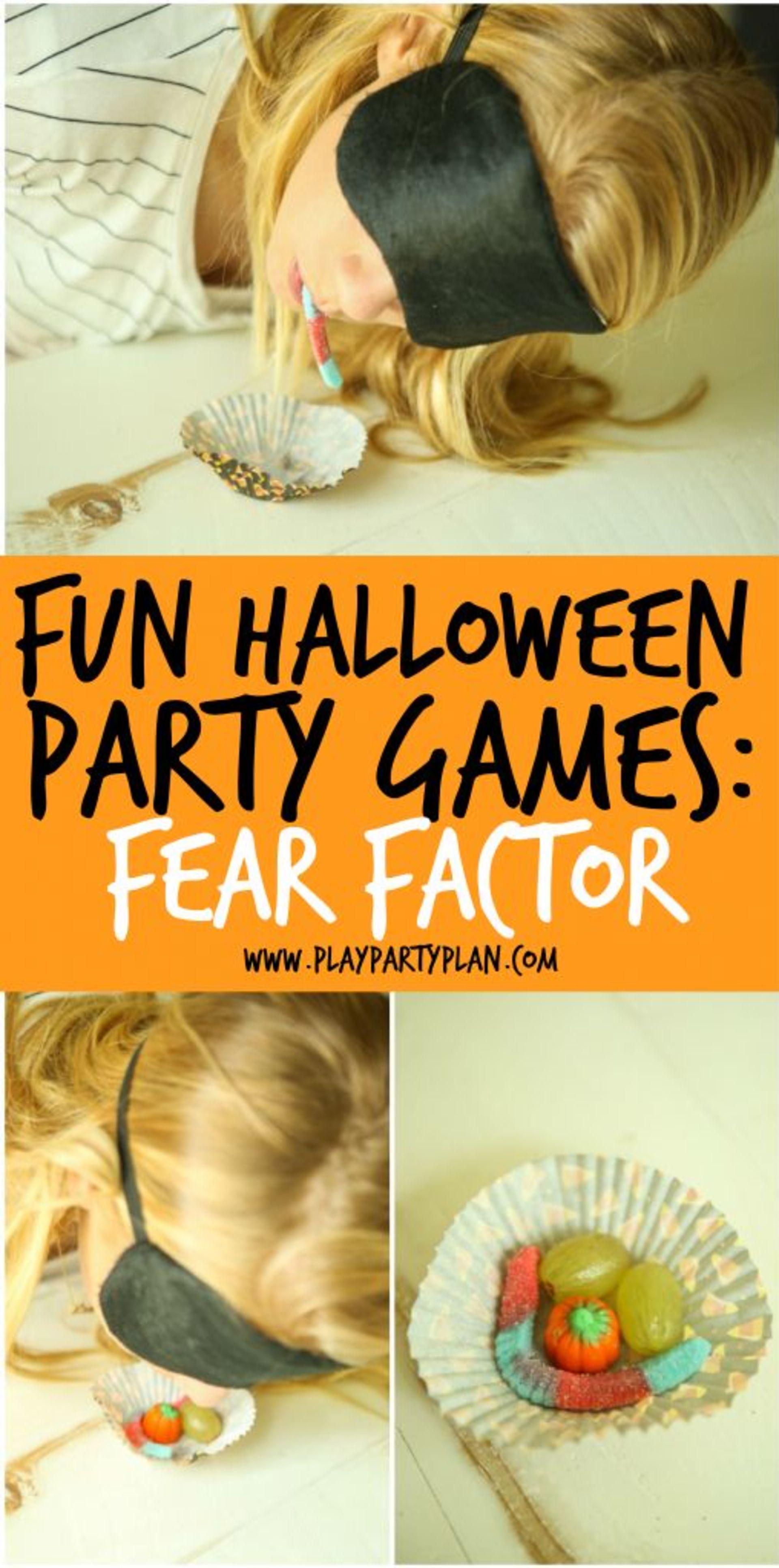 Halloween fear factor