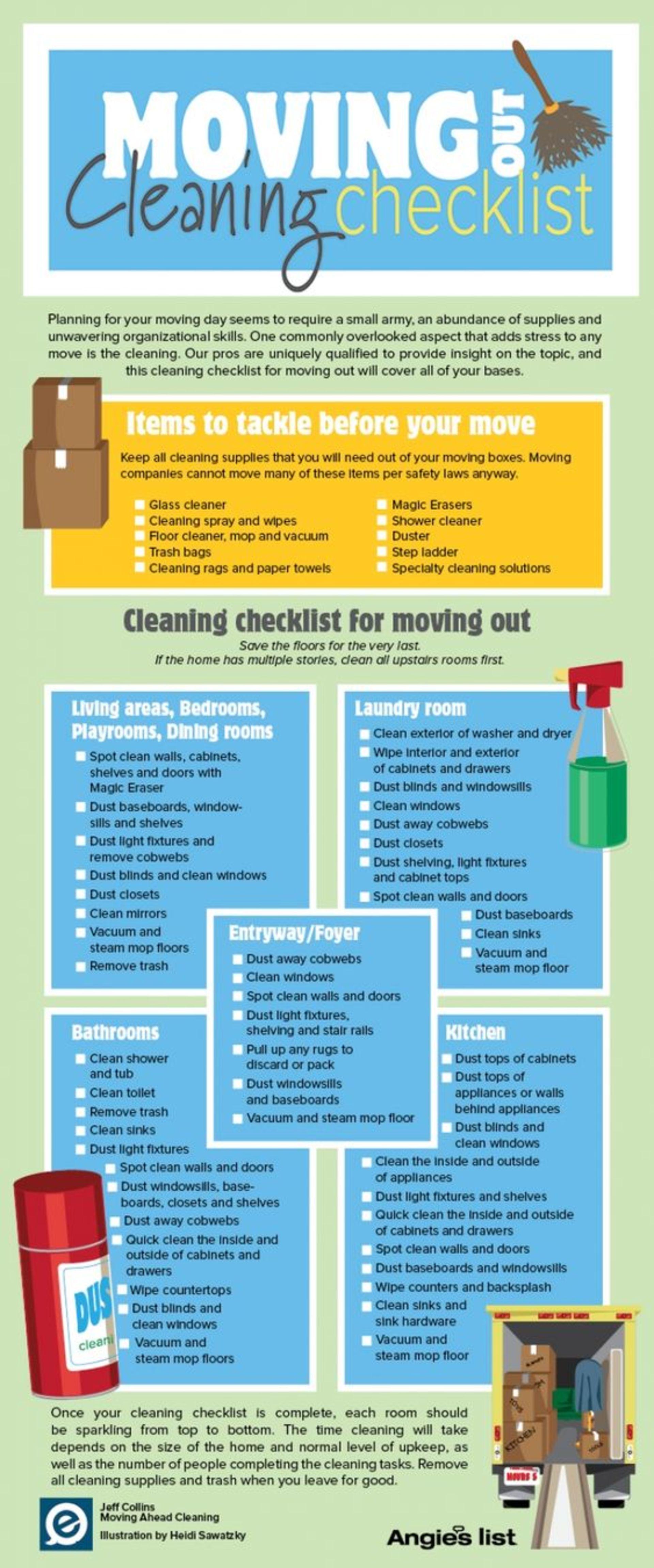Moving Checklist!