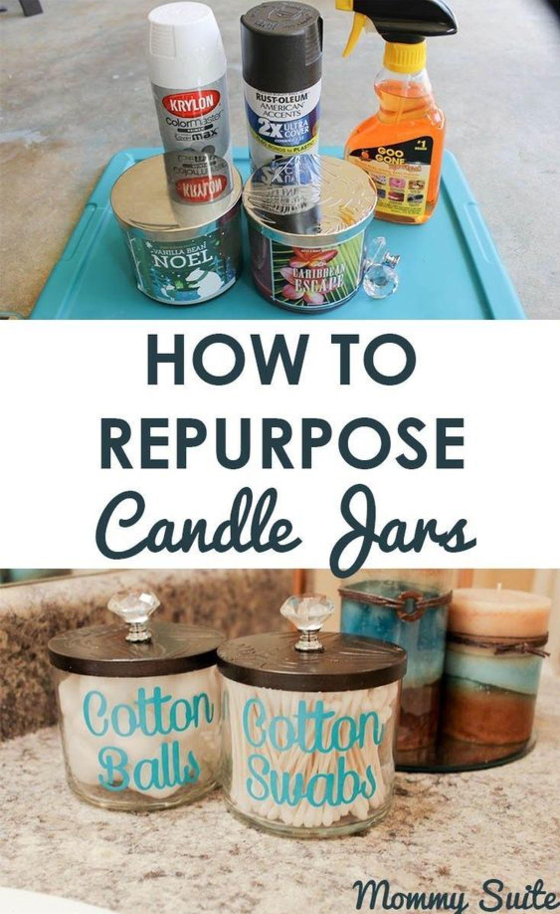 Candle Repurpose