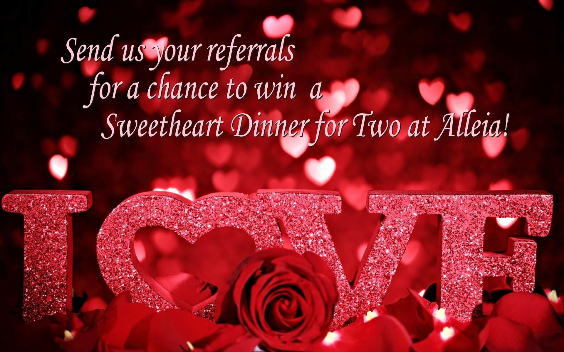 Win a Valentine Dinner for Two!