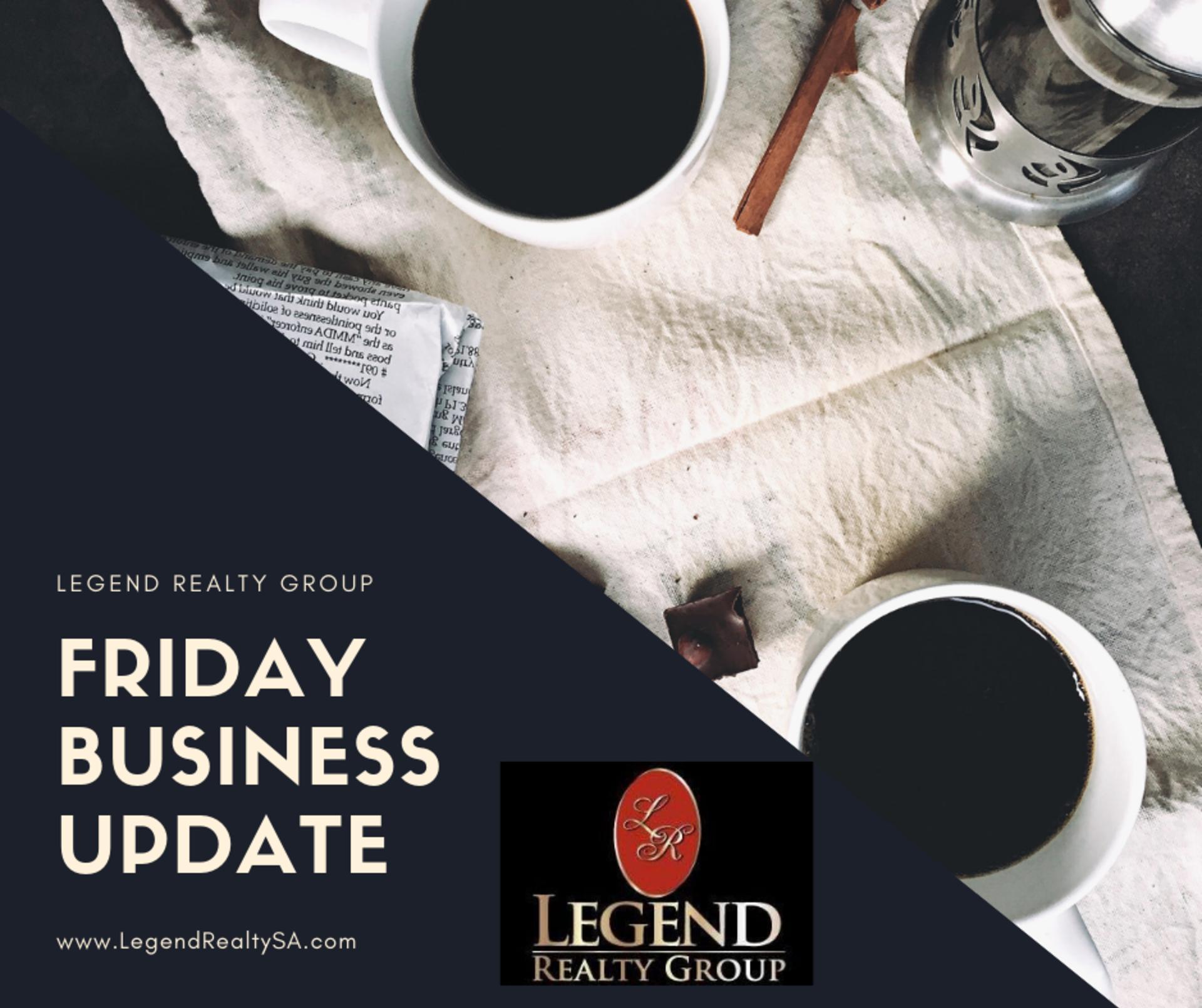 San Antonio Friday Business Update