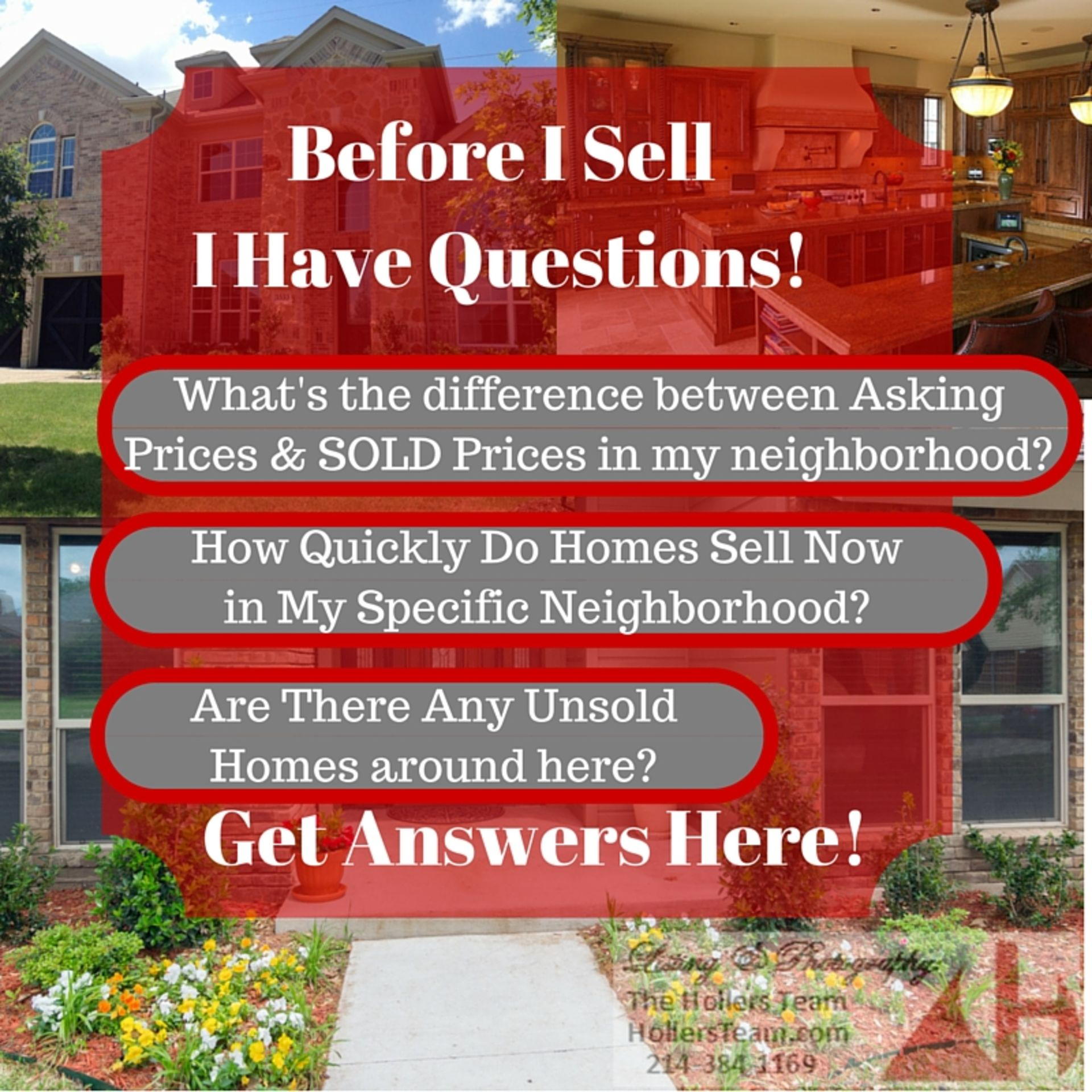 Dallas Area Home Seller Questions
