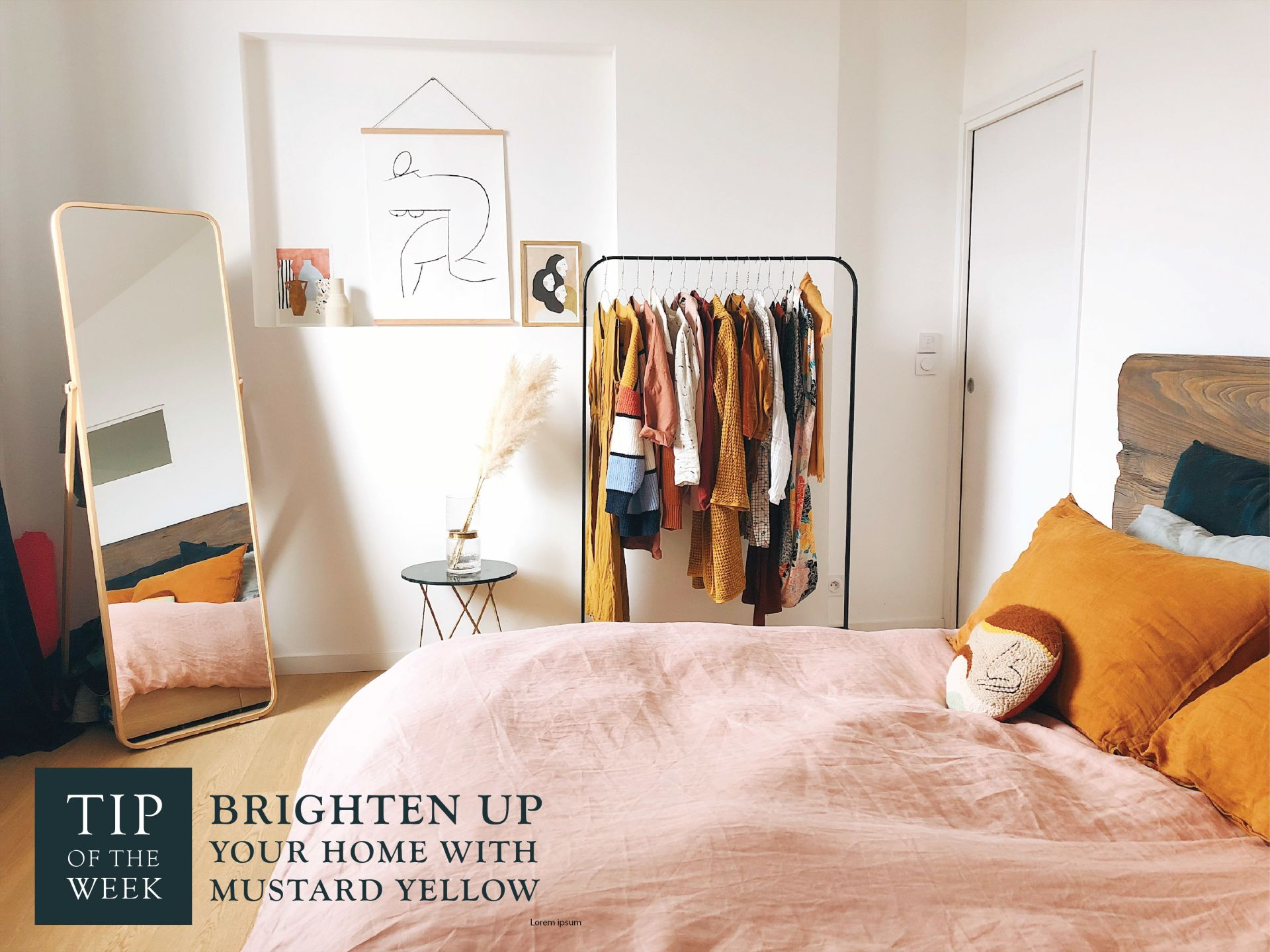 Brighten Up Your Home with Mustard Yellow
