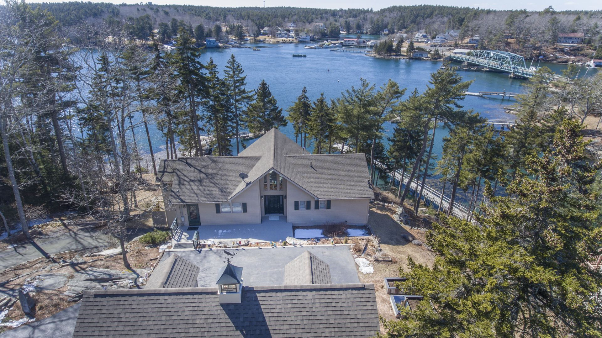 JUST LISTED – 21 Townsend Ledge Drive, Boothbay Harbor, ME | Waterfront