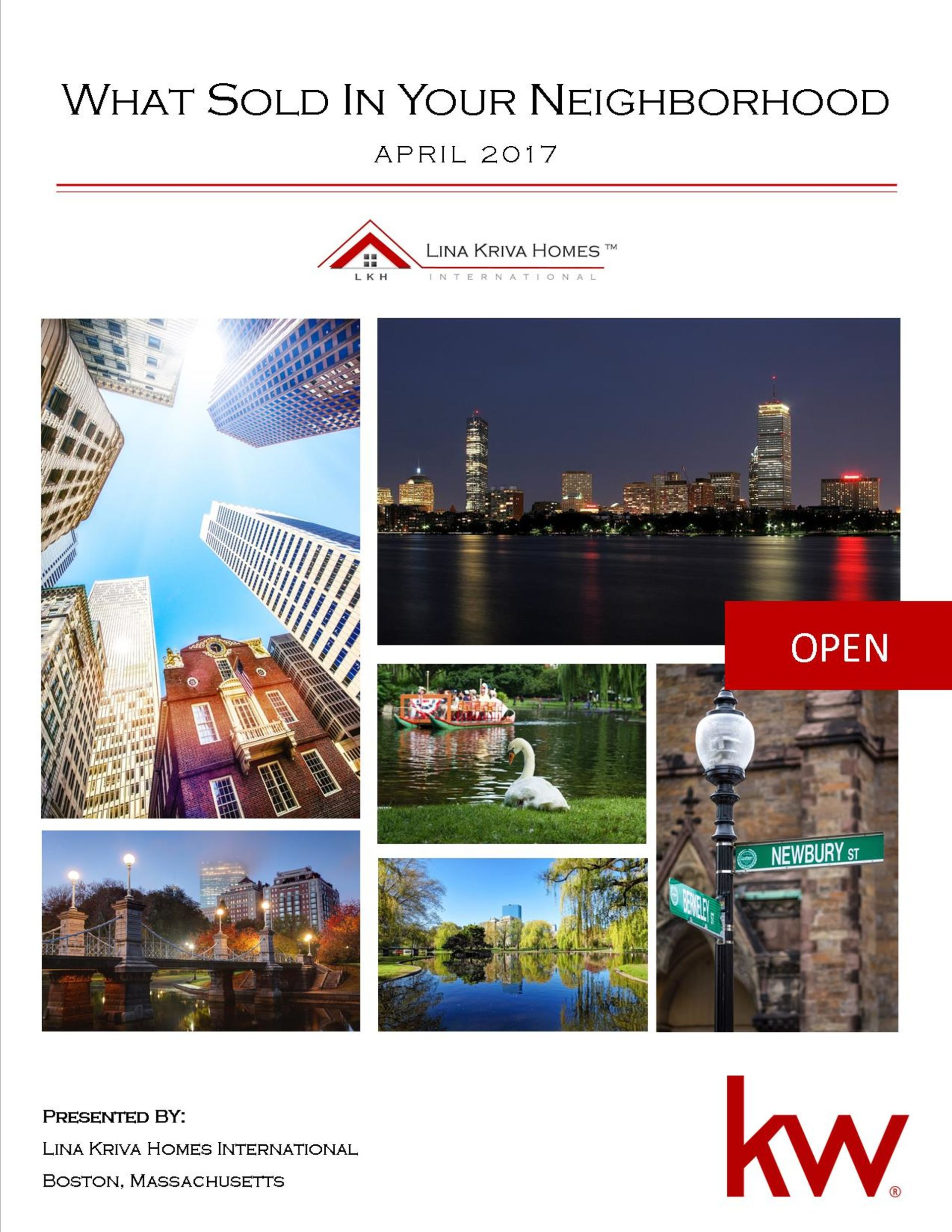 April 2017 – What Sold in Your Neighborhood?