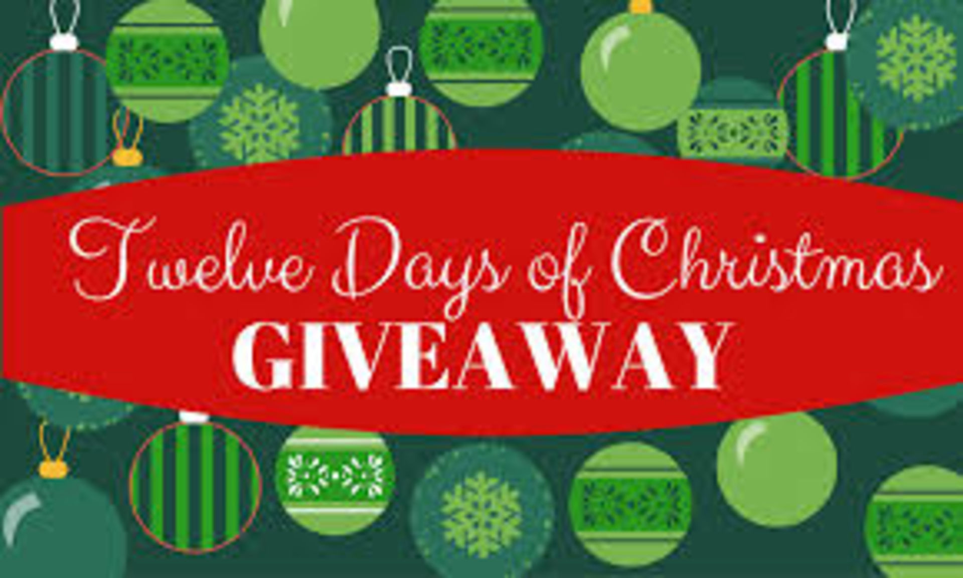 12 Days of Chirstmas Giveaway Winners!
