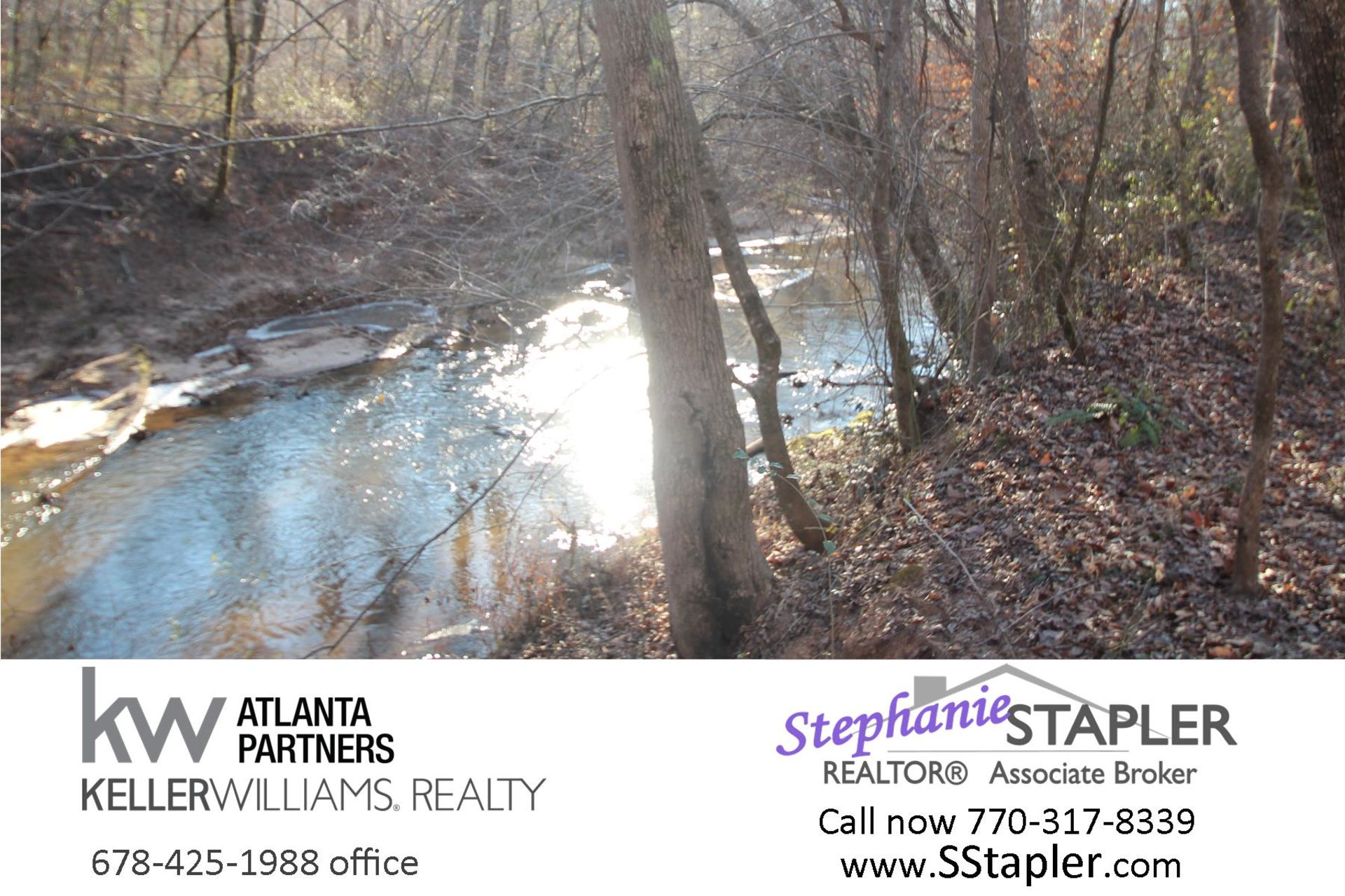 LAND FOR SALE Price Reduced! Jackson County 9.38 Acres, Flowing Creek & Level Homesite