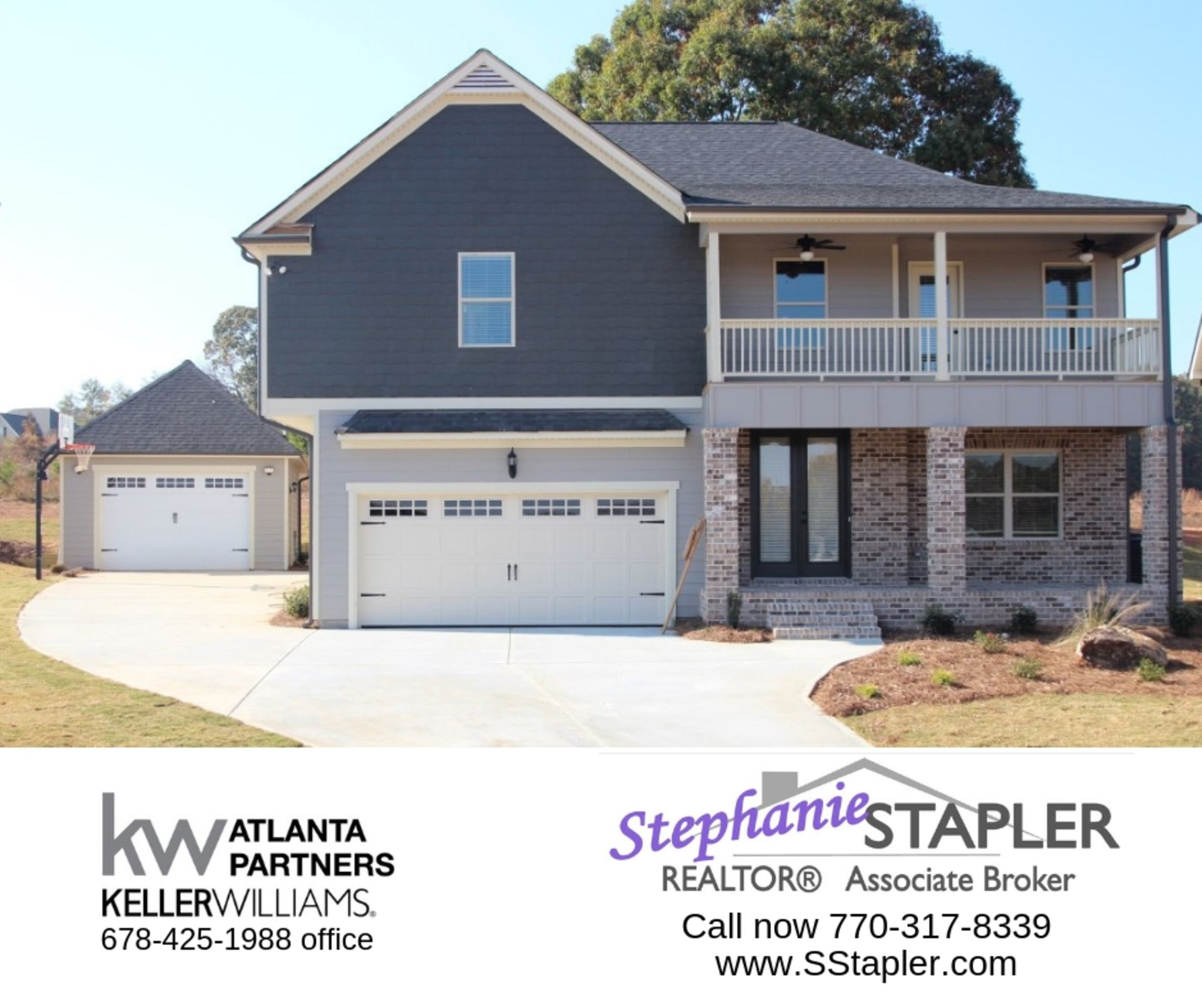 HOME FOR SALE 4bd/ 3ba, Double Front Porches, Man Cave and More!