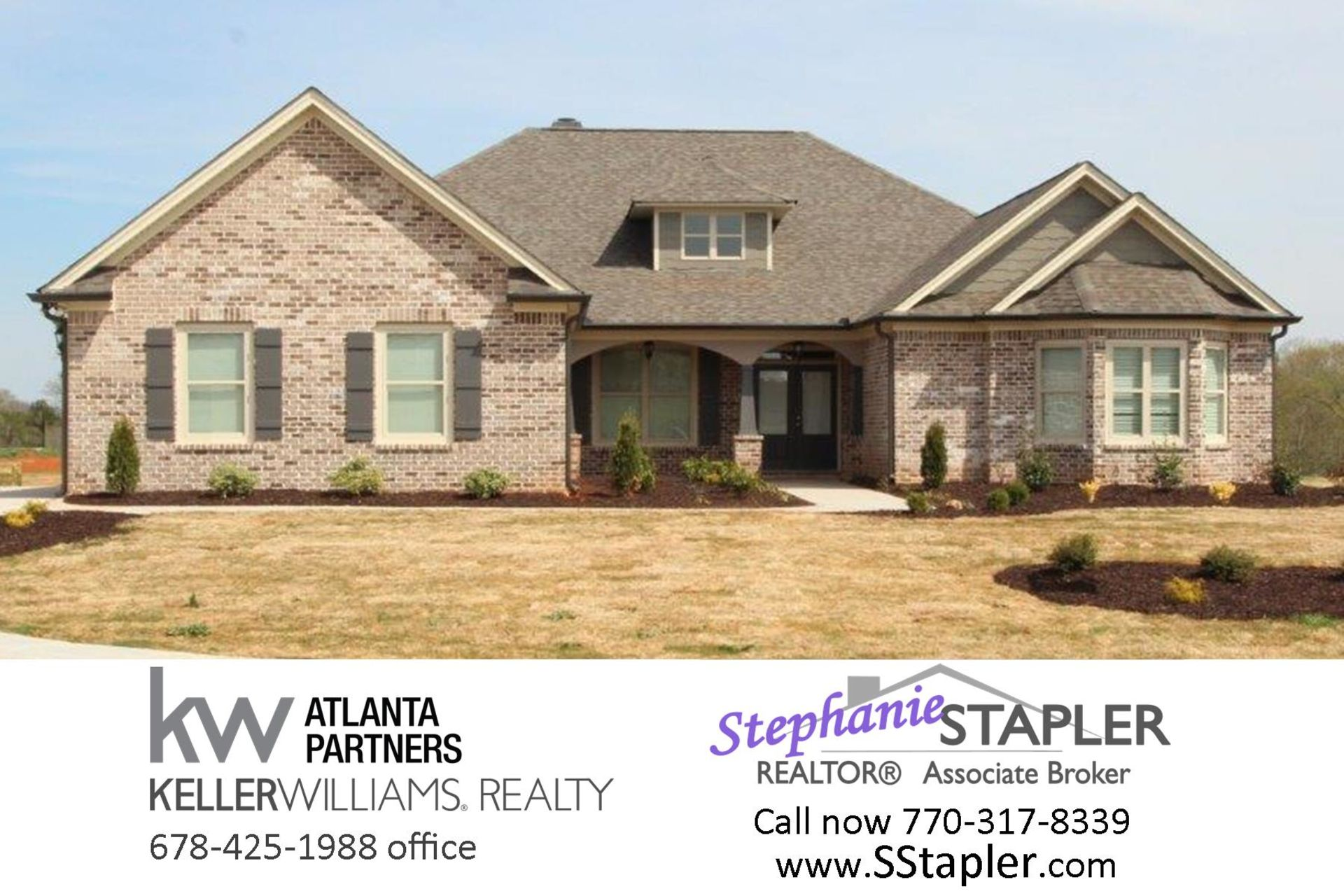 NEW HOME FOR SALE Grayson GA, Art N Homes 4bd/3ba, 2nd Owner's Suite, No HOA