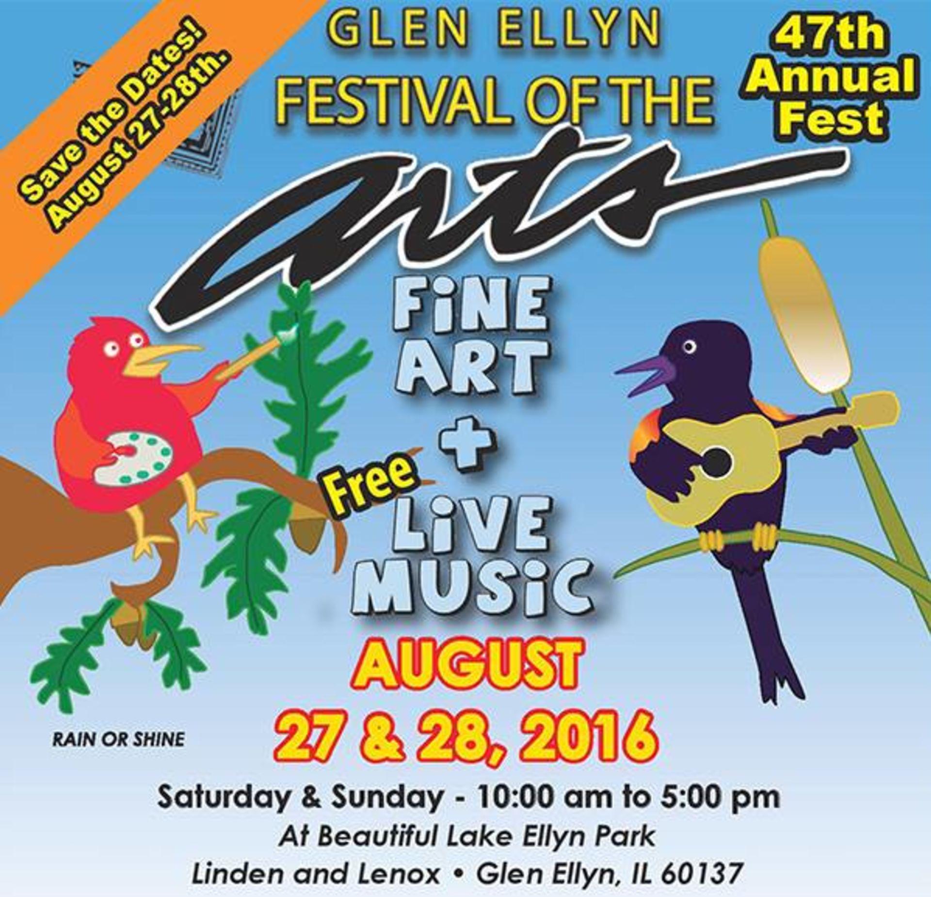 Get Artsy In Glen Ellyn, IL This Weekend!