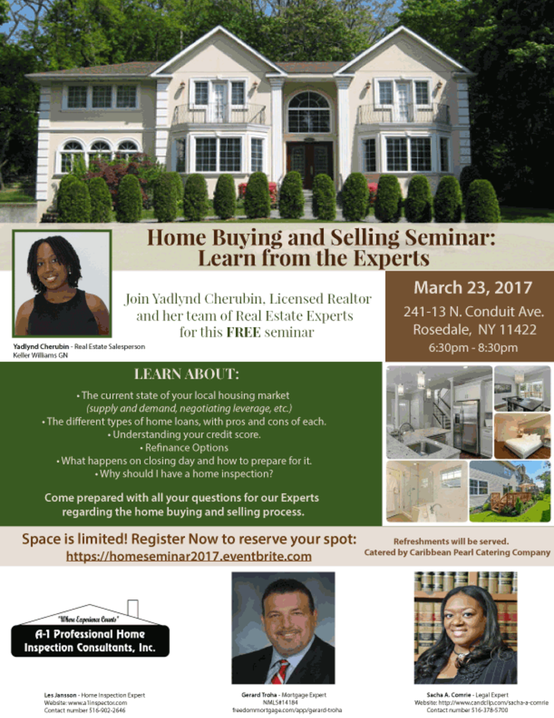 2017 Home Buying and Selling Seminar