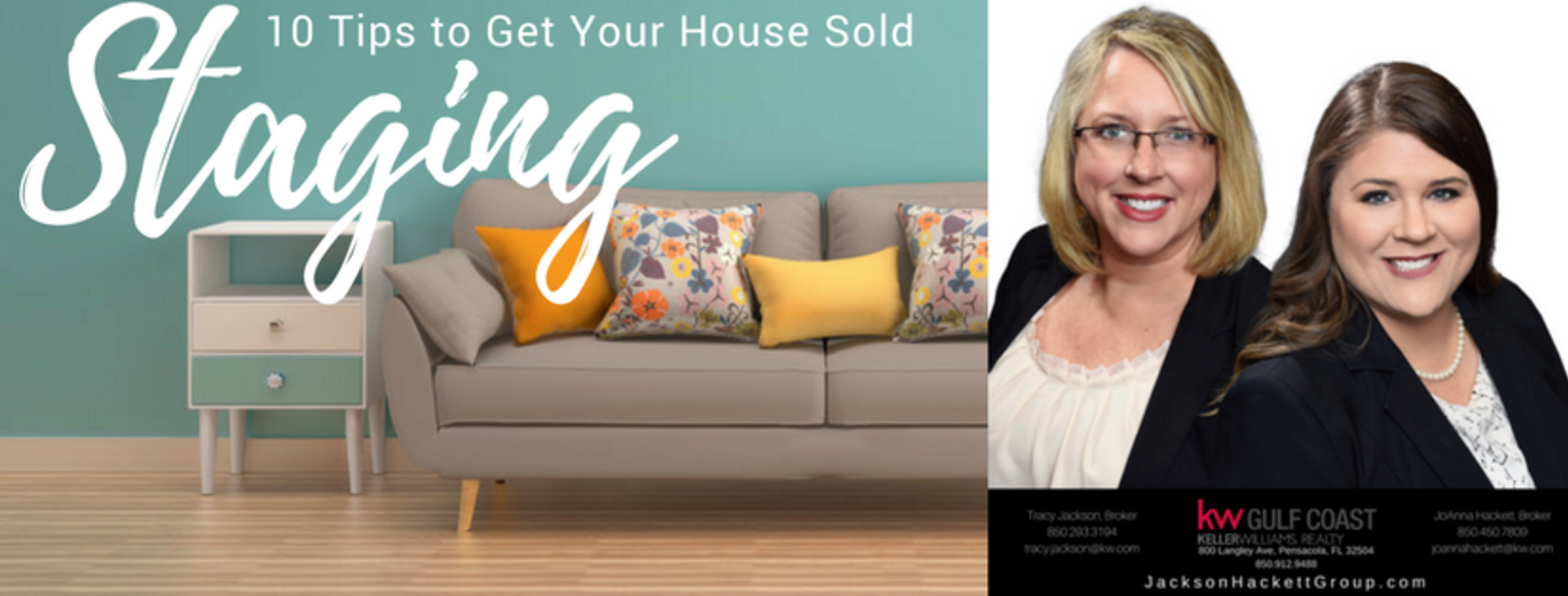 10 Staging Tips To Get Your House Sold