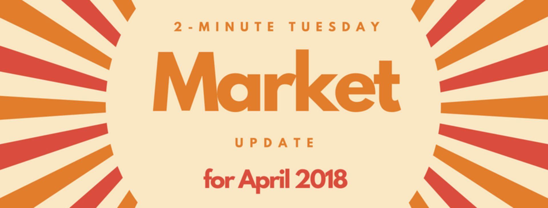 2-Minute Tuesday – Recap of April 2018 Pensacola Real Estate Market