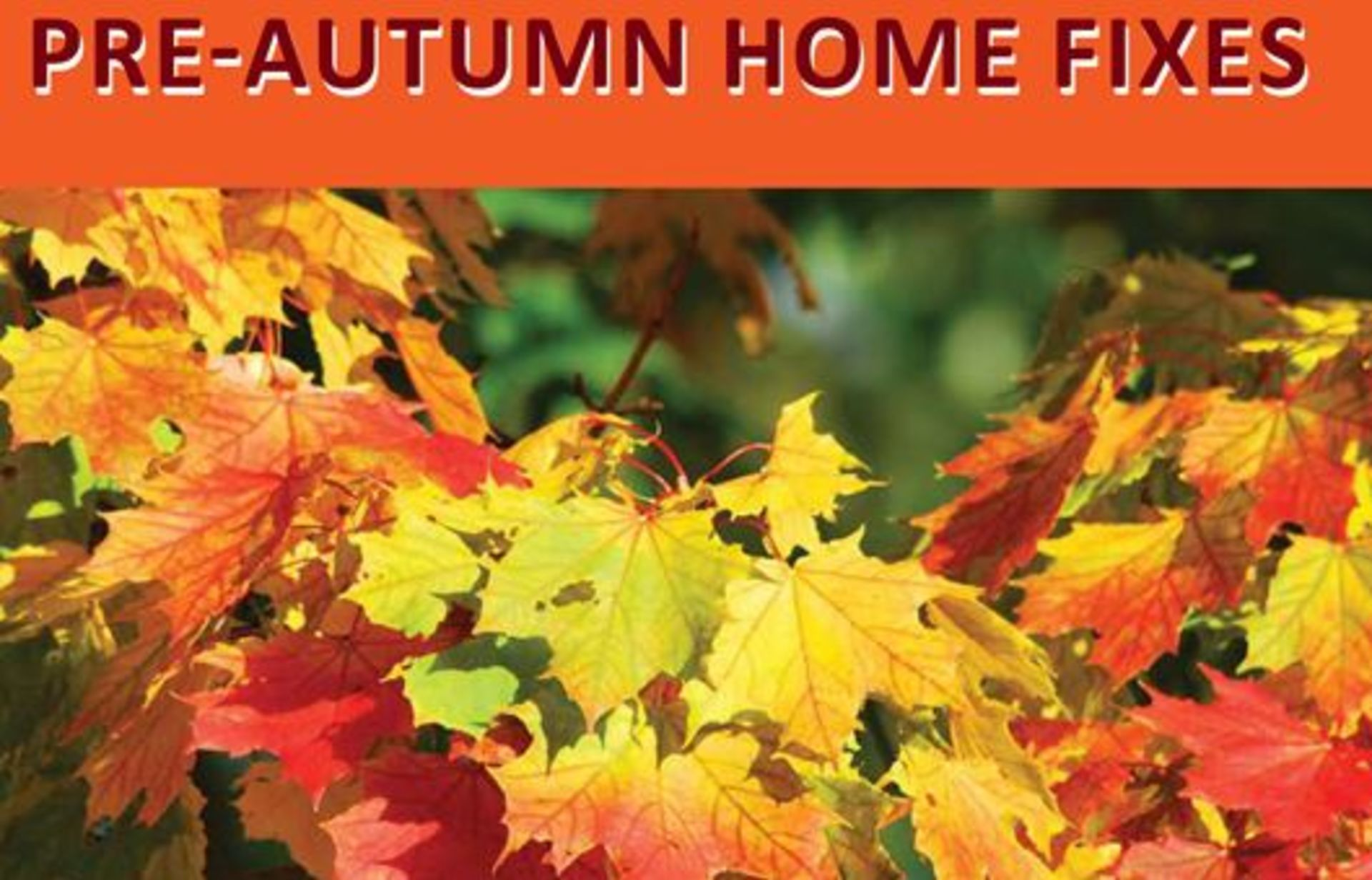 Pre-autumn home fixes!