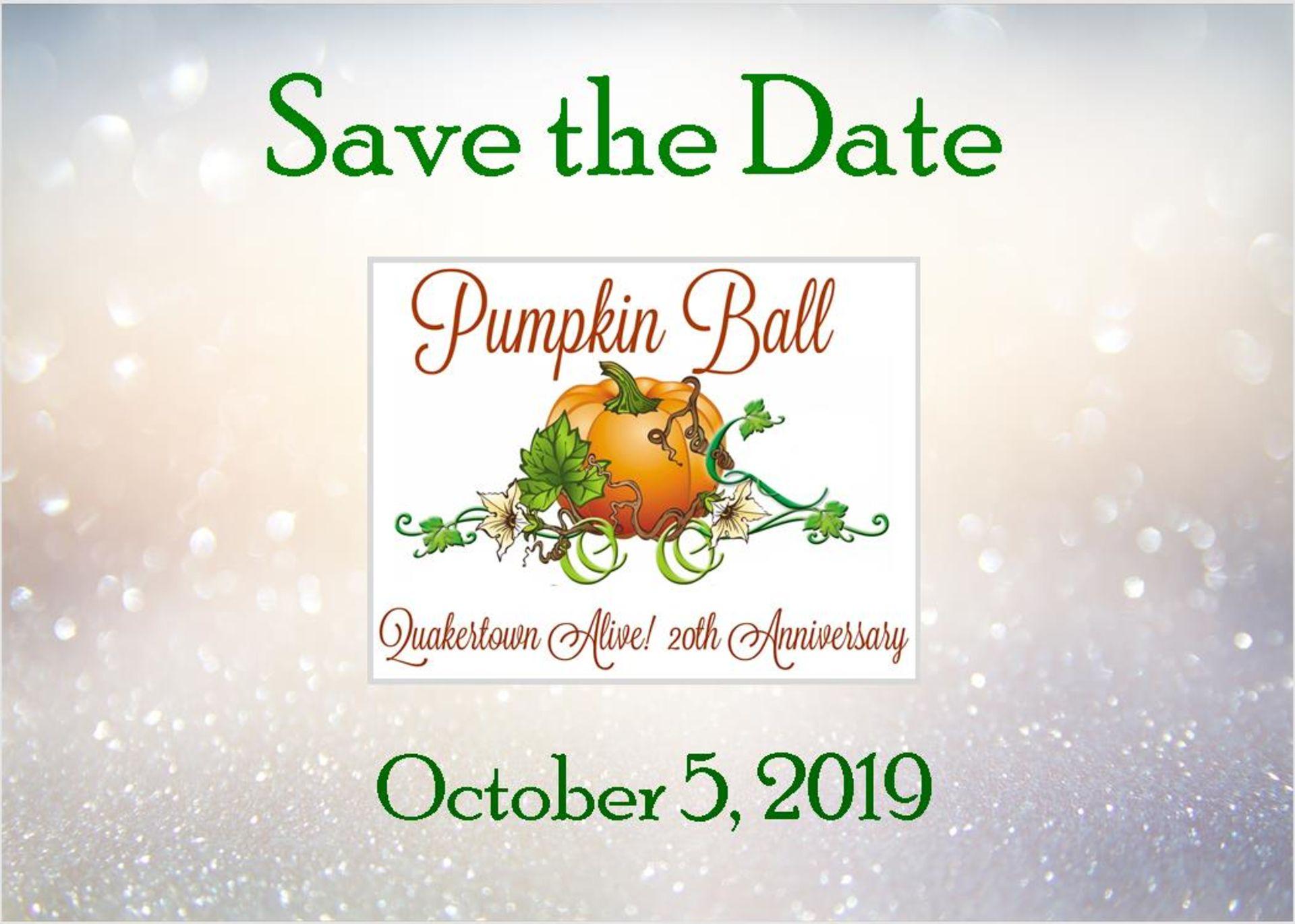 Pumpkin Ball Ticket Giveaway