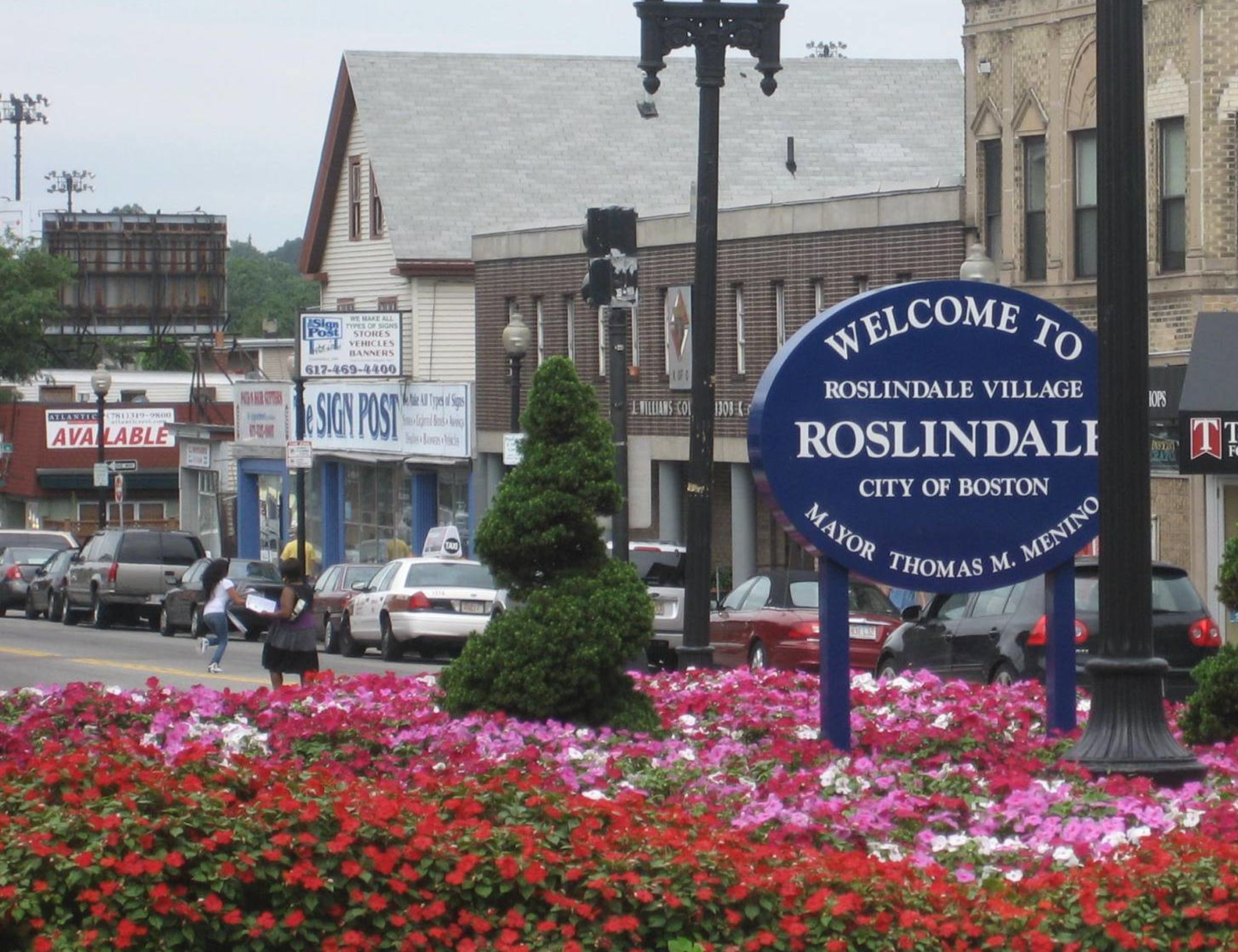 Roslindale gay neighborhood