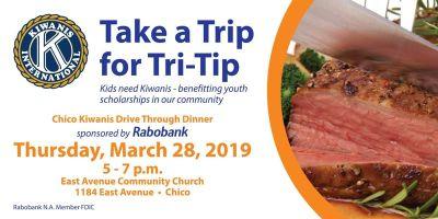 Take a Trip for Tri-Tip! Kids Need Kiwanis Drive Through Dinner