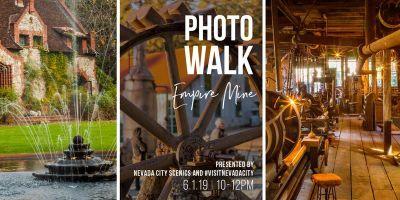 Photo Walk at Empire Mine State Historic Park
