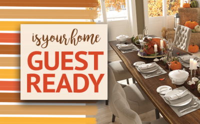 How to prepare your home for Thanksgiving guests