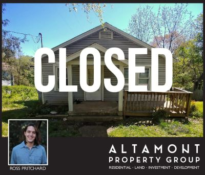 SOLD! Affordable West Asheville Bungalow
