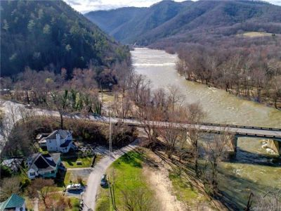 SOLD! Home in Hot Springs Bordering the French Broad River